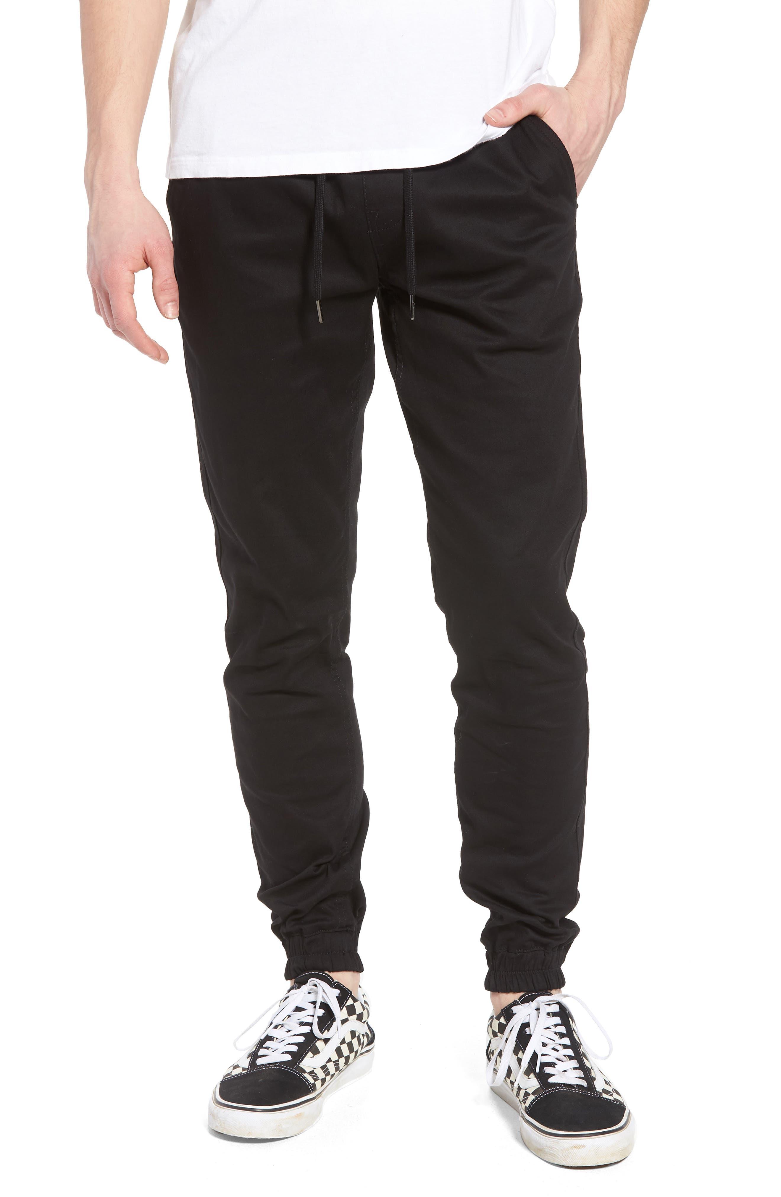 Runner Slim Fit Jogger Pants,                             Main thumbnail 1, color,                             Black