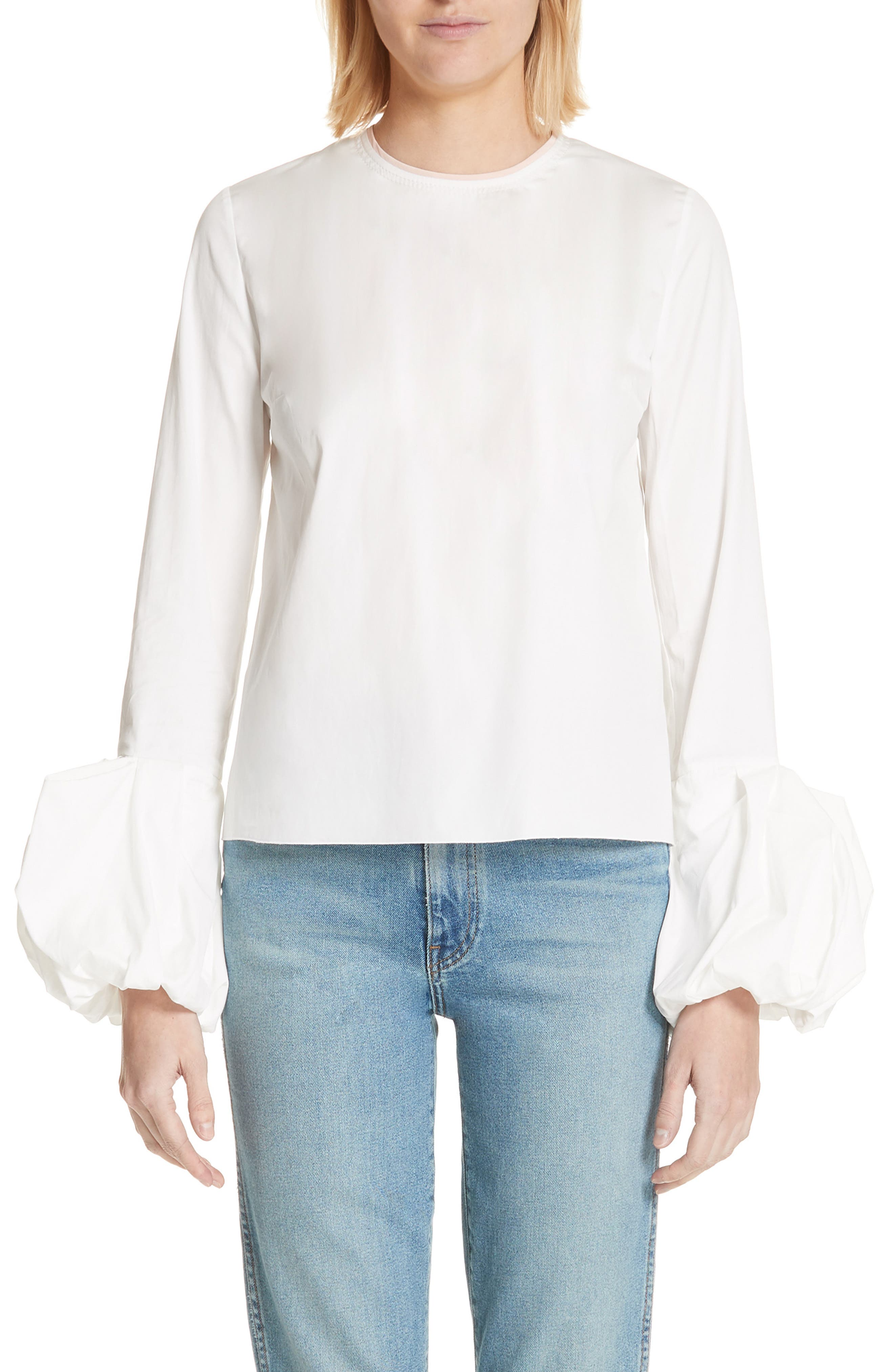 Arlo Top,                         Main,                         color, Ivory