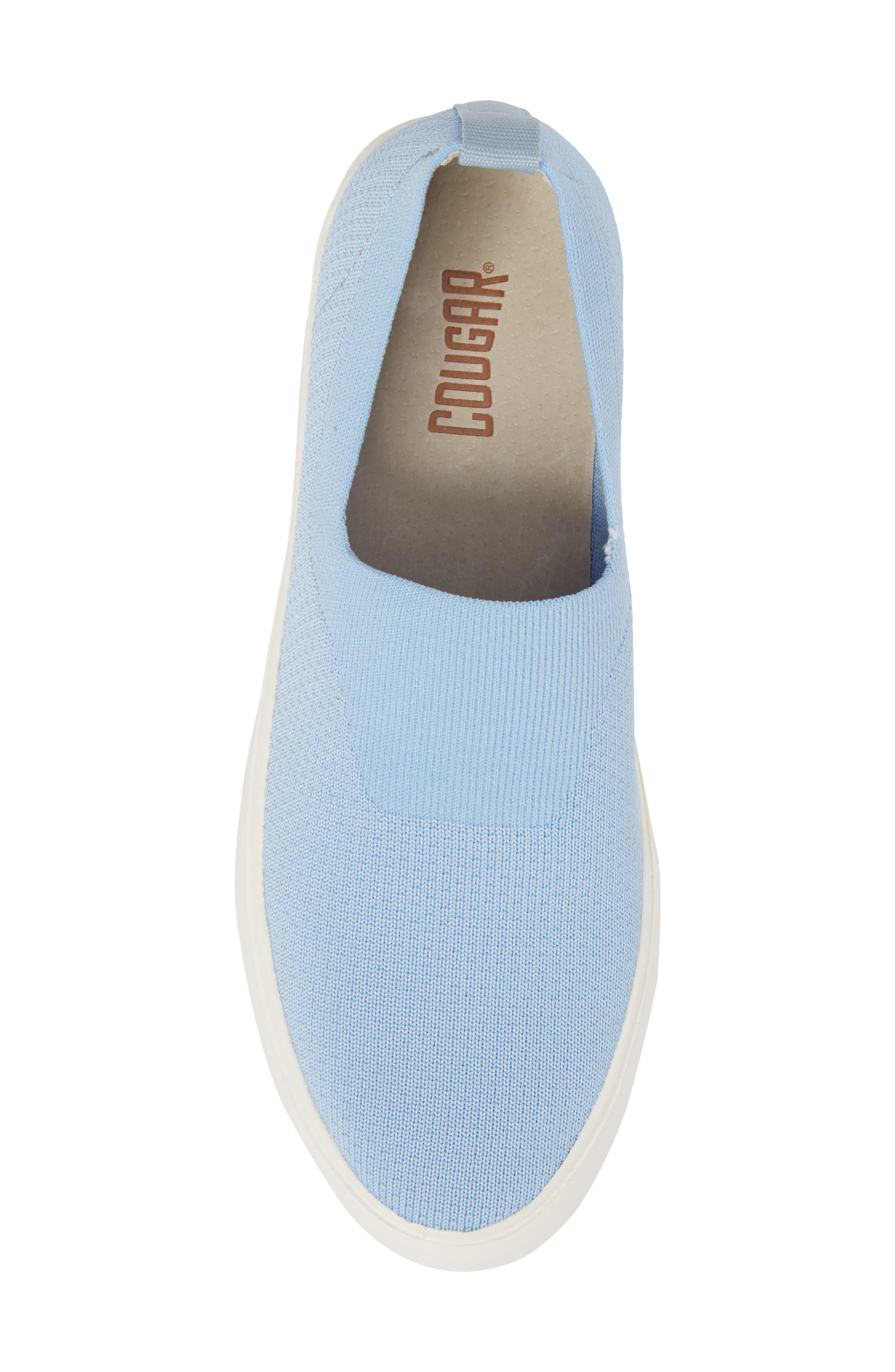 Hula Slip-On Sneaker,                             Alternate thumbnail 5, color,                             Fog Blue