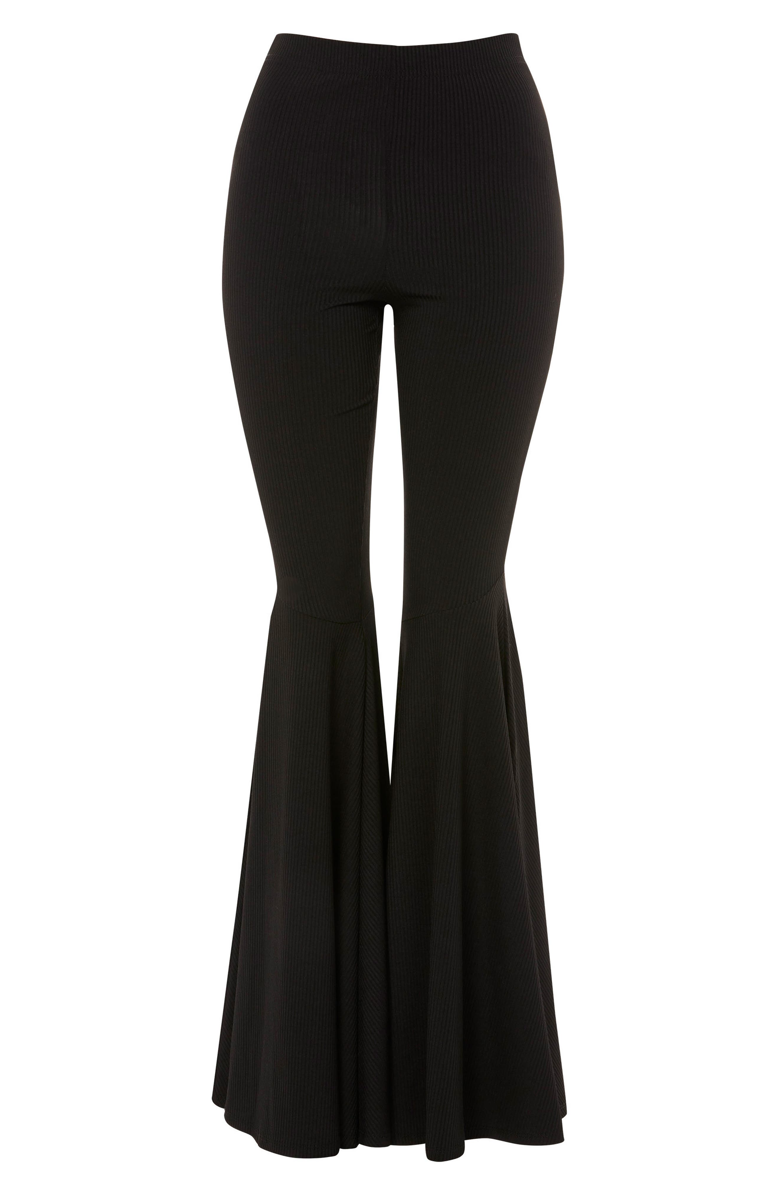Alternate Image 3  - Topshop Extreme Flare Trousers