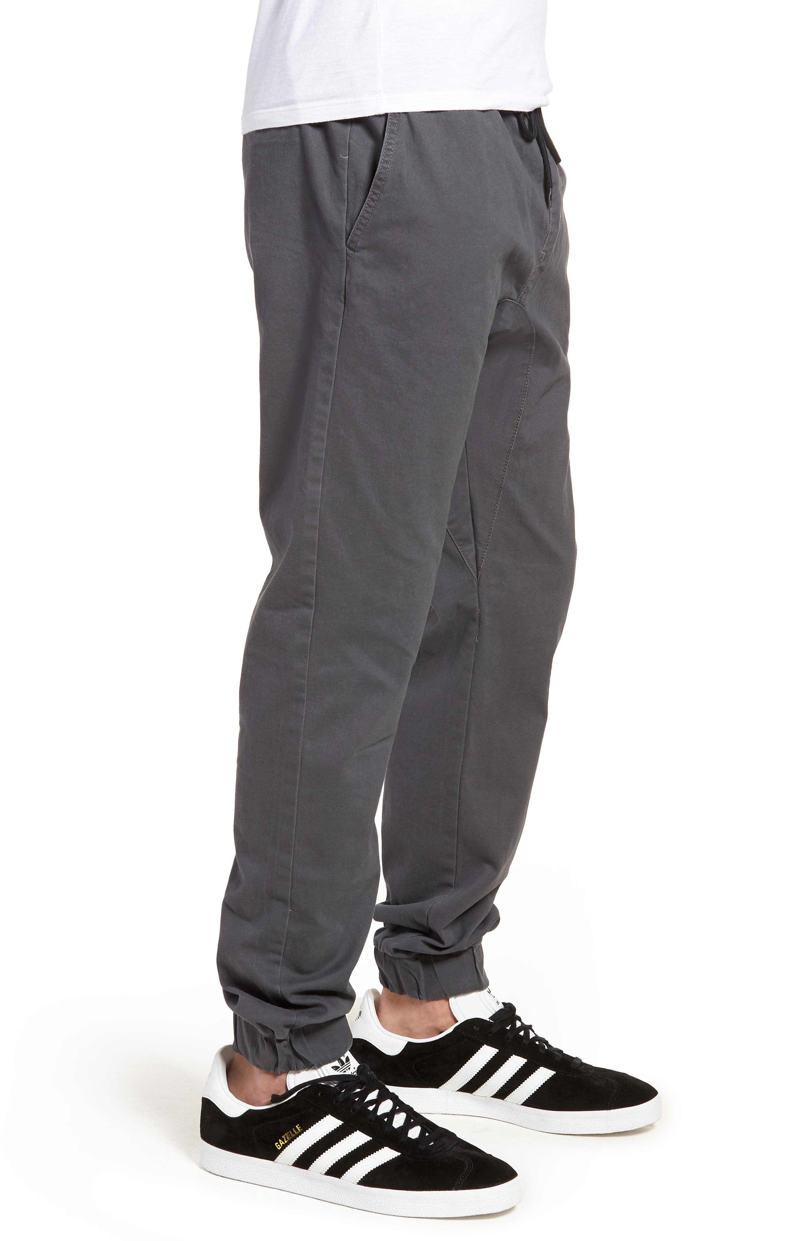 Jogger Pants,                             Alternate thumbnail 3, color,                             Grey Onyx