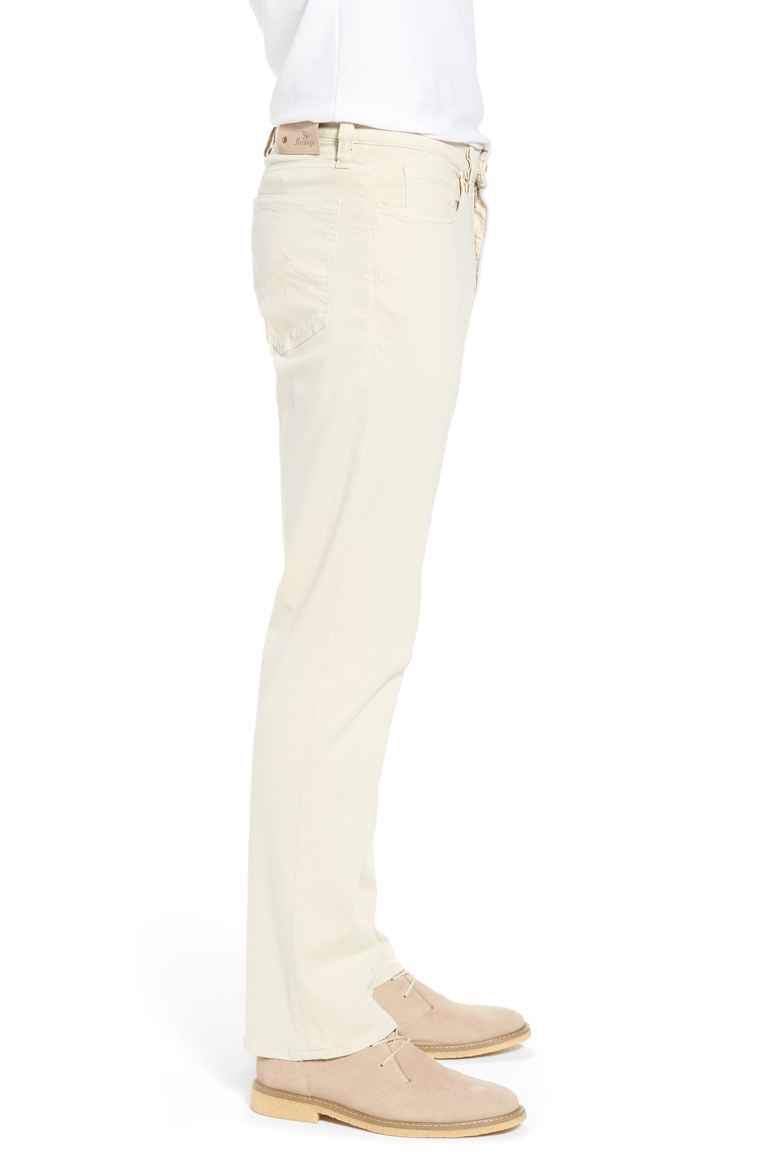 Charisma Relaxed Fit Jeans,                             Alternate thumbnail 3, color,                             Bone Twill