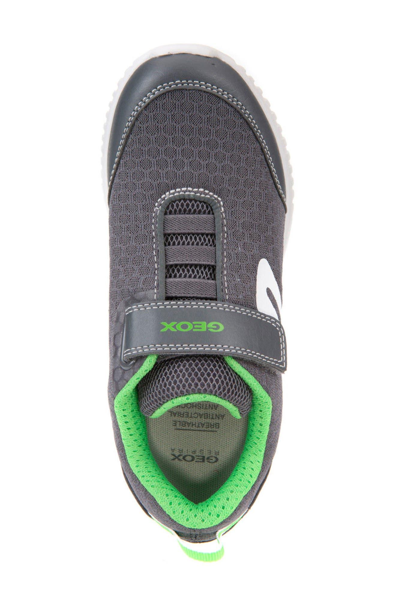 Alternate Image 4  - Geox Waviness Sneaker (Toddler, Little Kid & Big Kid)