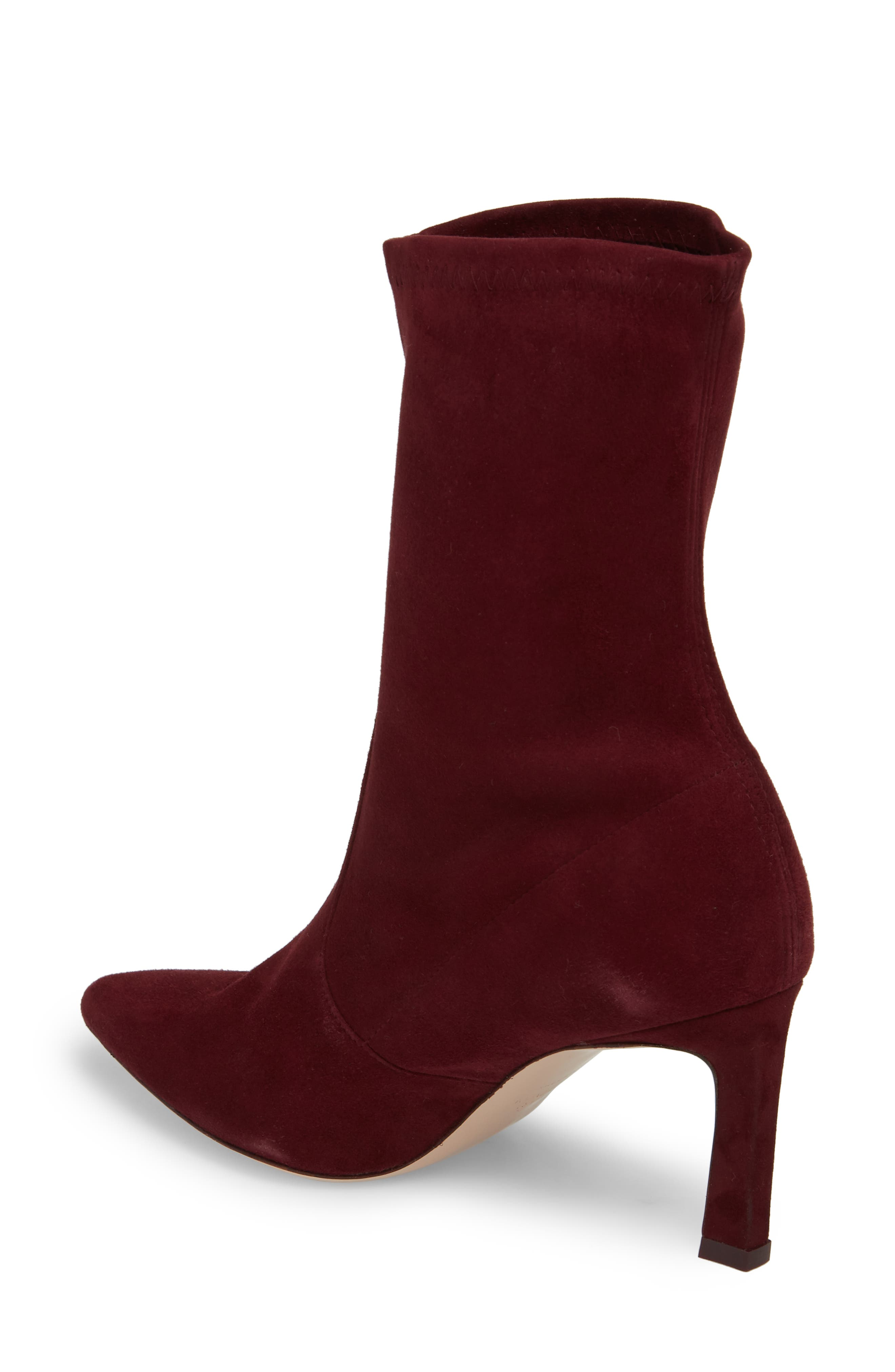 Rapture 75 Bootie,                             Alternate thumbnail 2, color,                             Cabernet Suede
