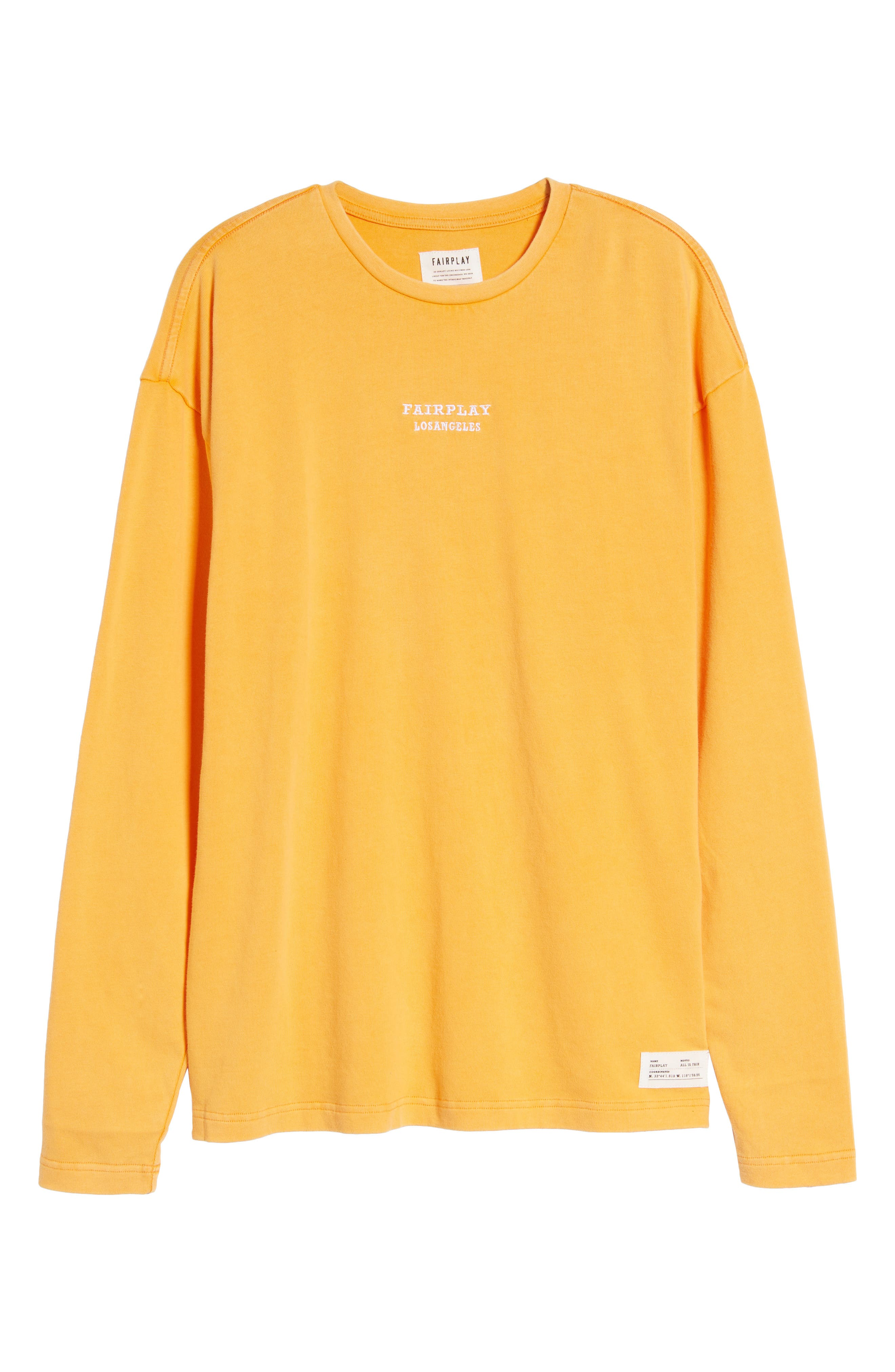 Anderson Sweatshirt,                             Alternate thumbnail 7, color,                             Orange