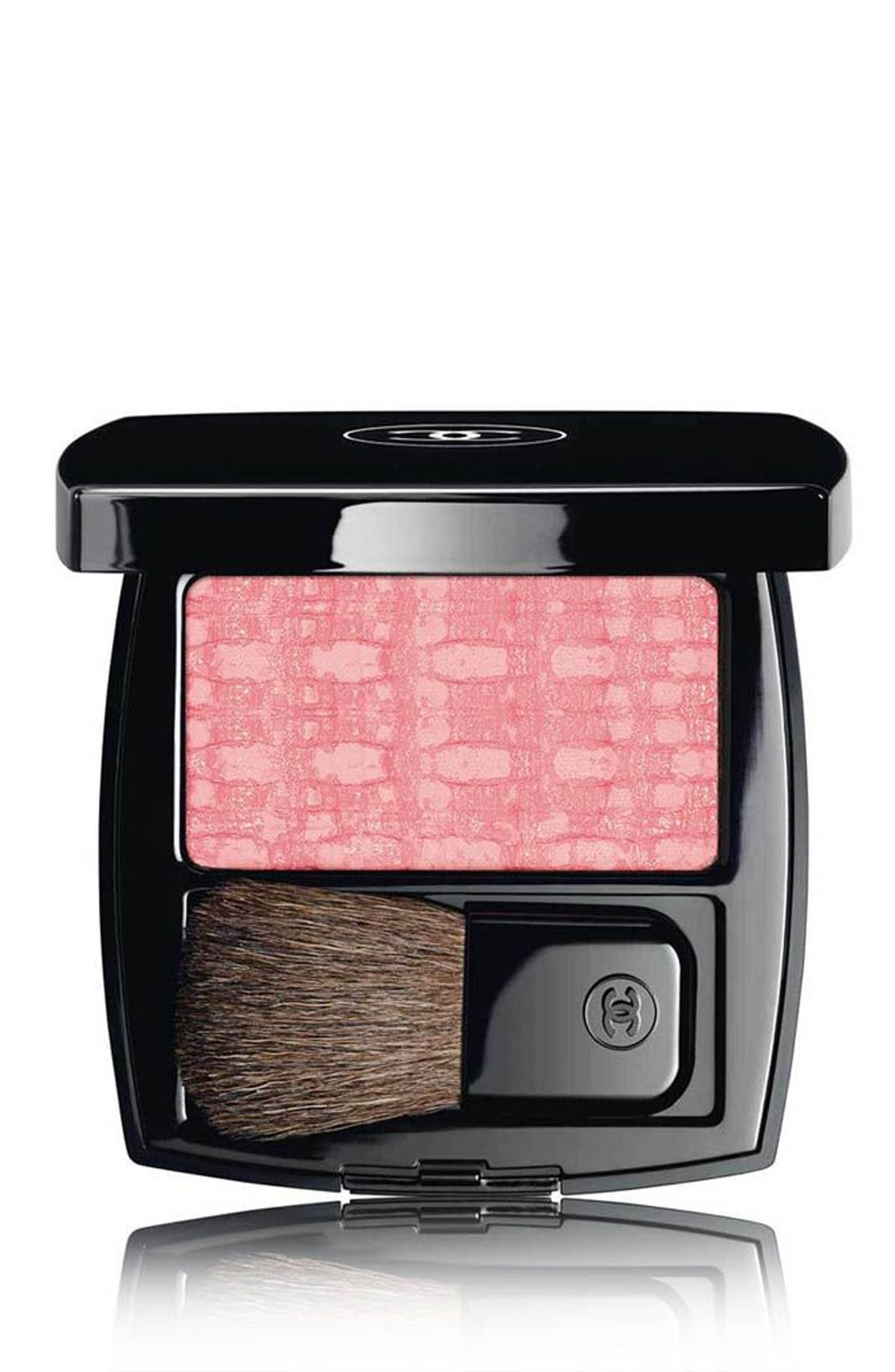 Alternate Image 1 Selected - CHANEL LES TISSAGES DE CHANEL Tweed Effect Blush Duo