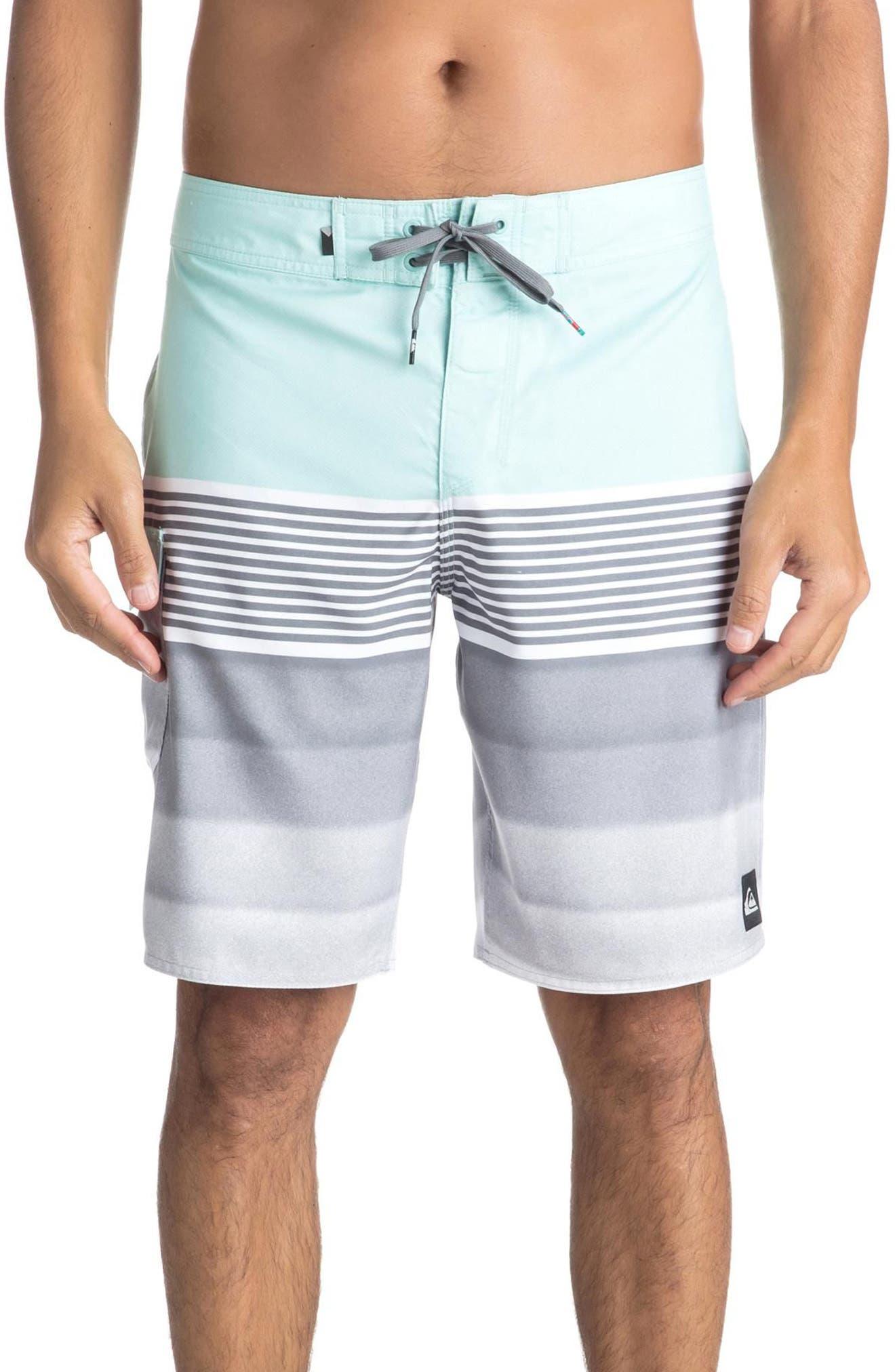 Division Board Shorts,                         Main,                         color, Eggshell Blue