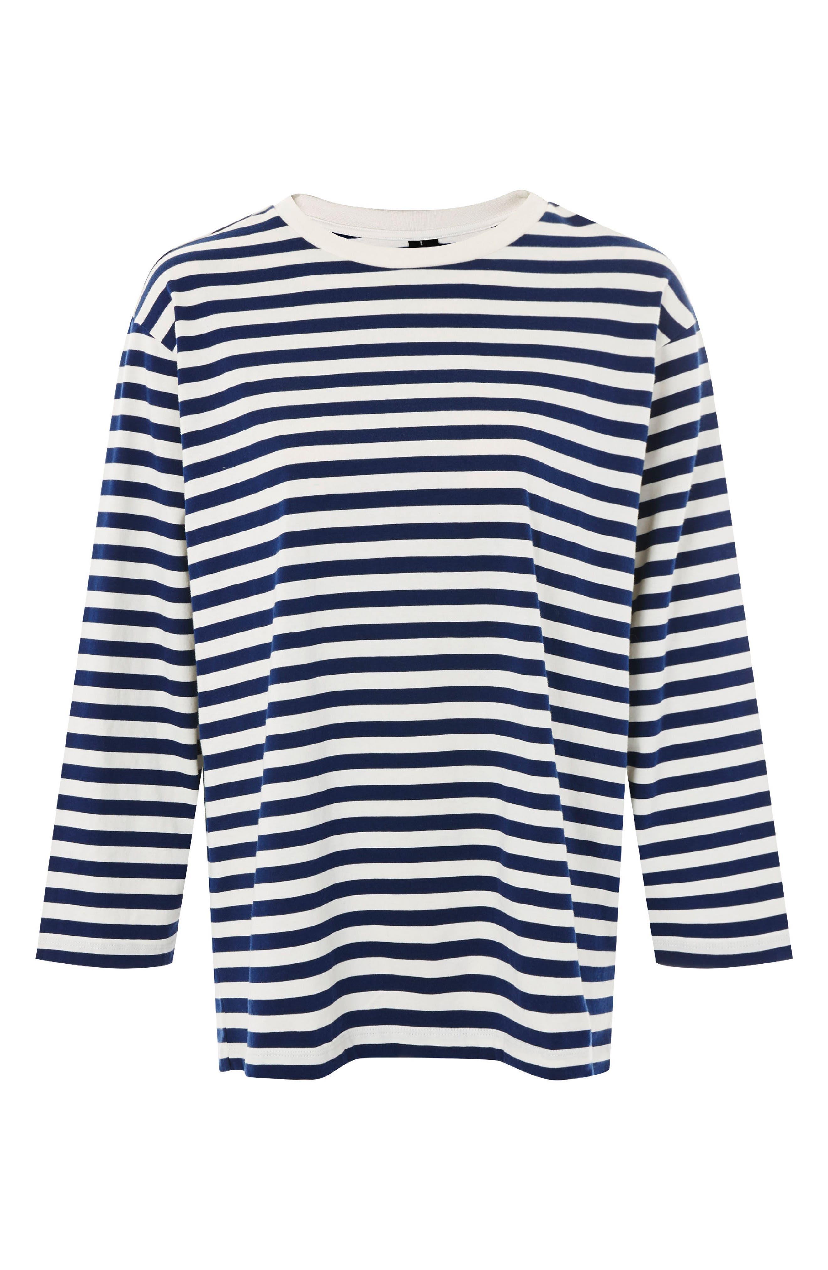 Topshop Boutique Stripe Shirt