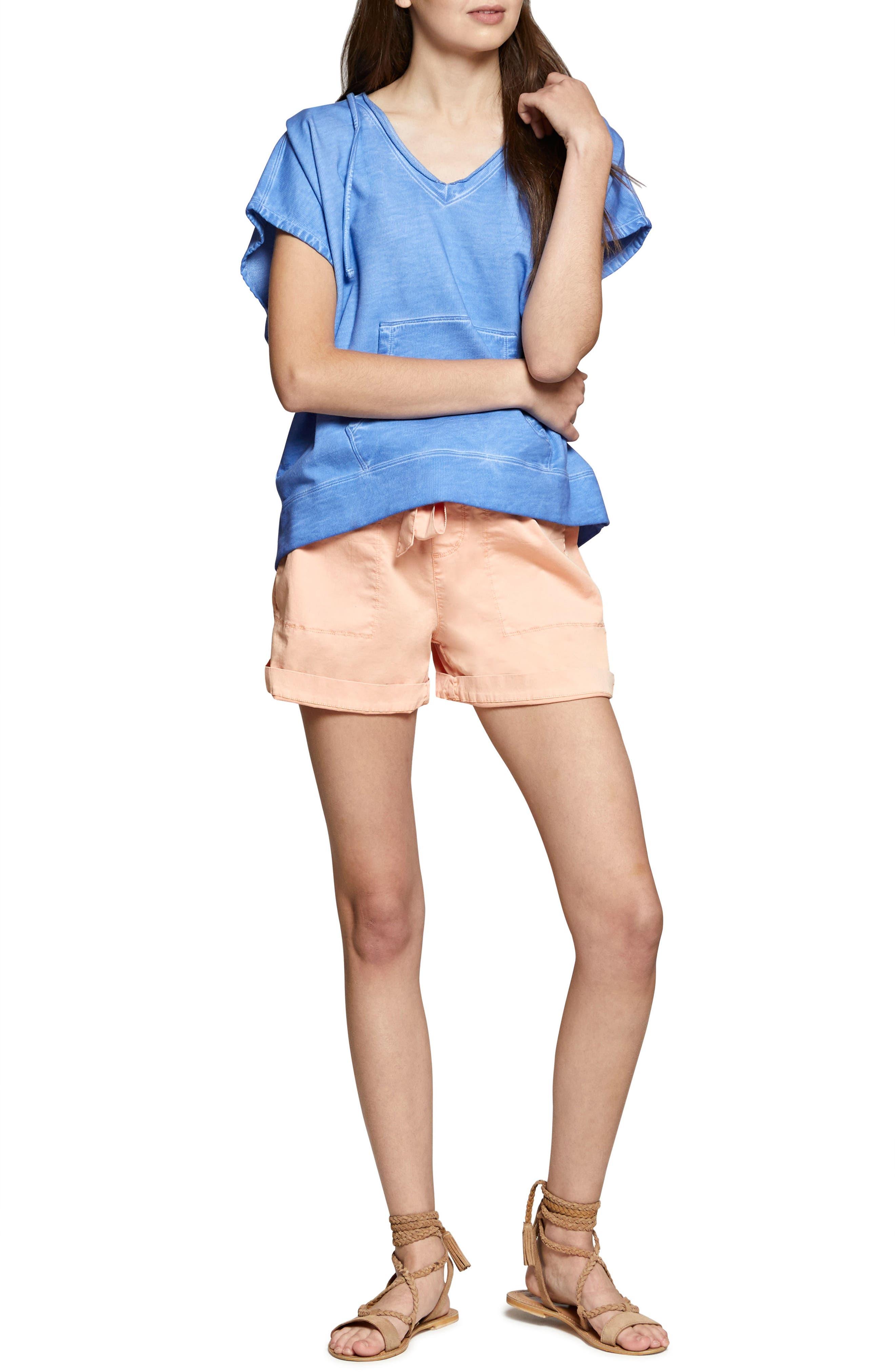 Daydreamer Shorts,                             Alternate thumbnail 4, color,                             Washed Papaya