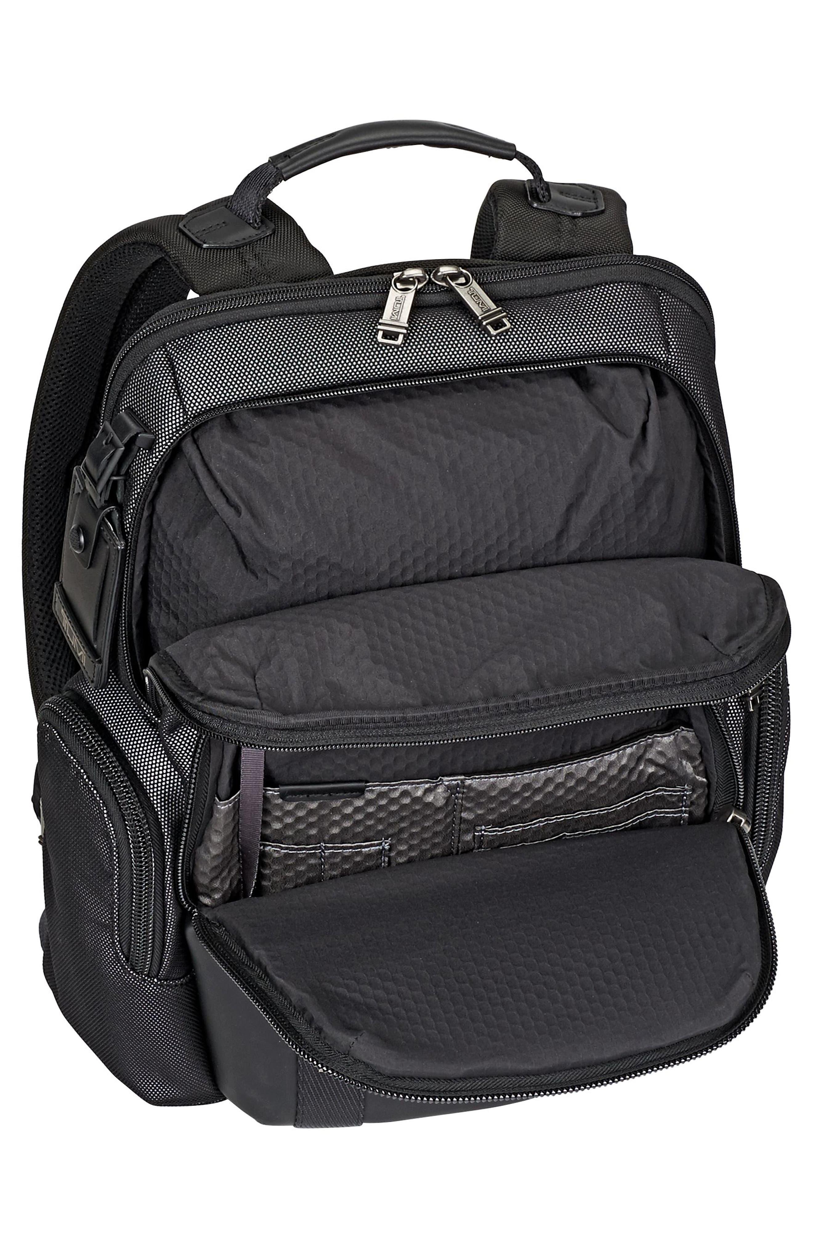 Alpha Bravo - Nellis Backpack,                             Alternate thumbnail 6, color,                             Reflective Silver