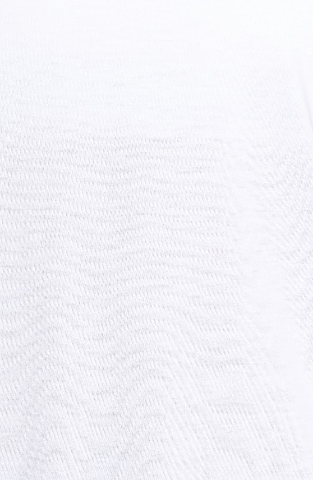 Microthread Swyft Tee,                             Alternate thumbnail 6, color,                             White