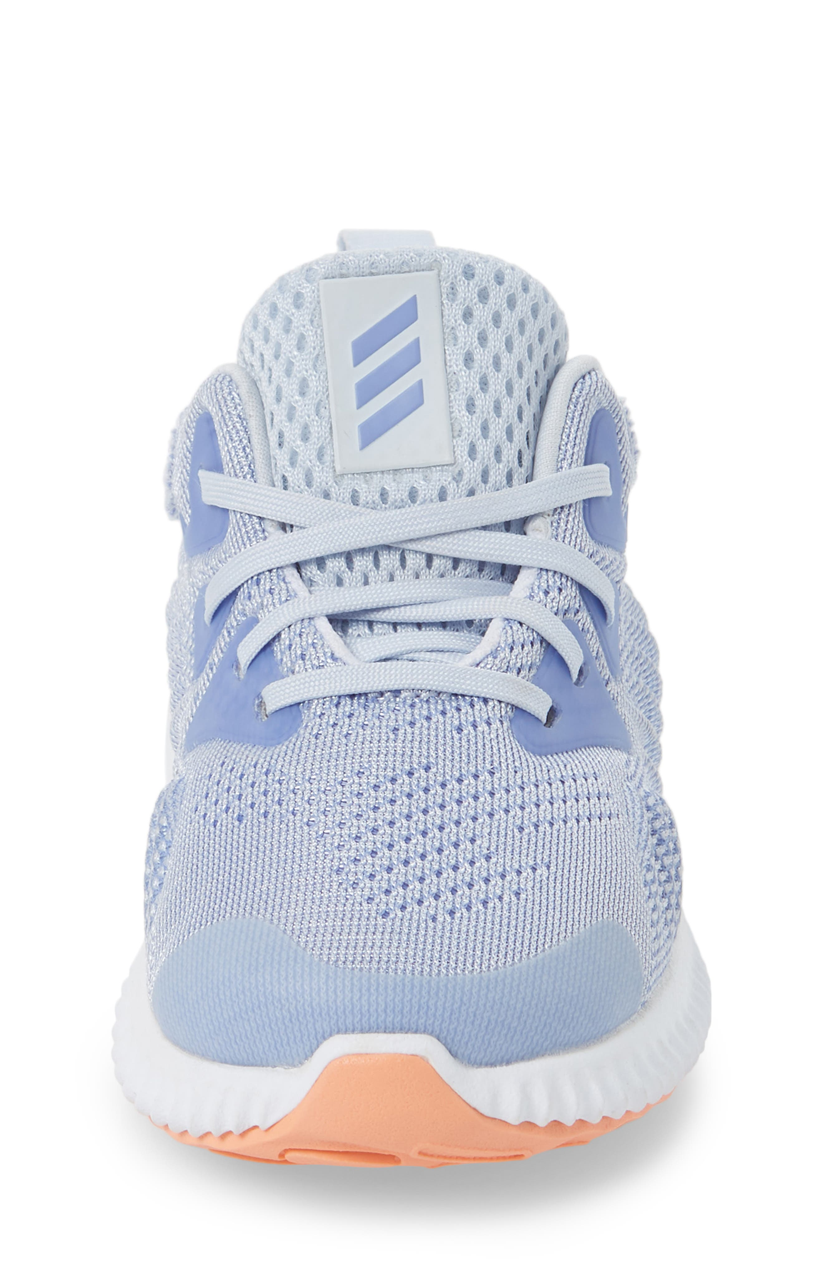 AlphaBounce Beyond Running Shoe,                             Alternate thumbnail 3, color,                             Blue/ Chalk Purple/ White
