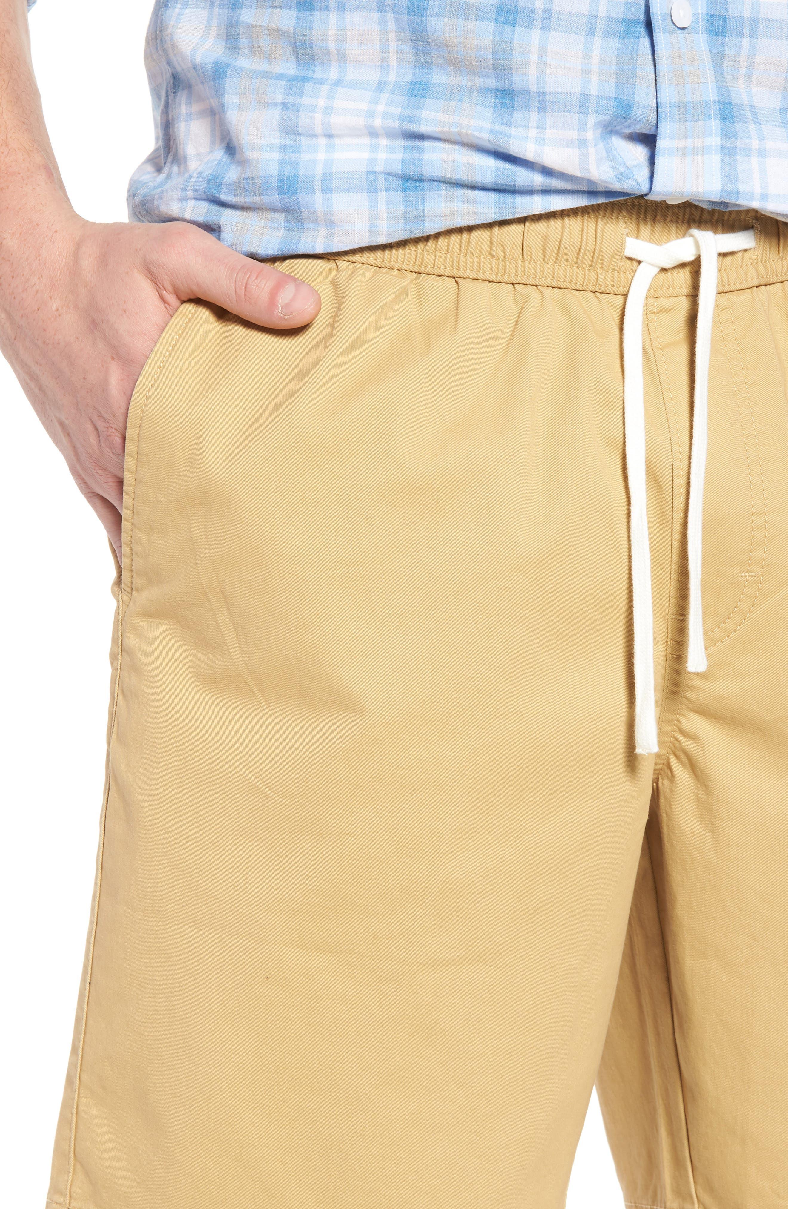 Ballard Slim Fit Shorts,                             Alternate thumbnail 4, color,                             Tan Lark
