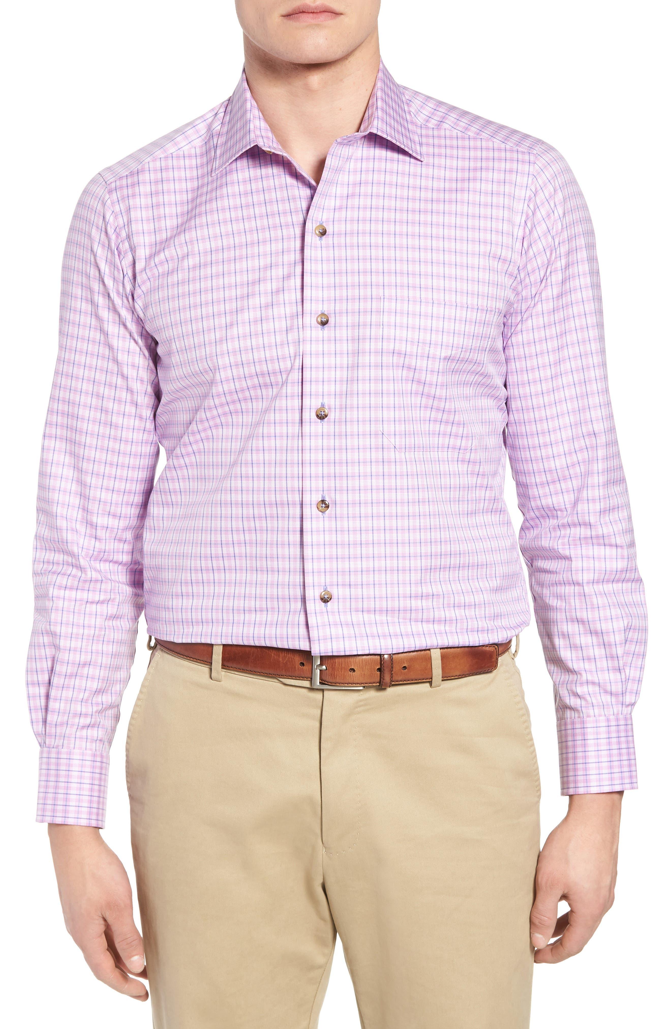 Sport Shirt,                         Main,                         color, Berry