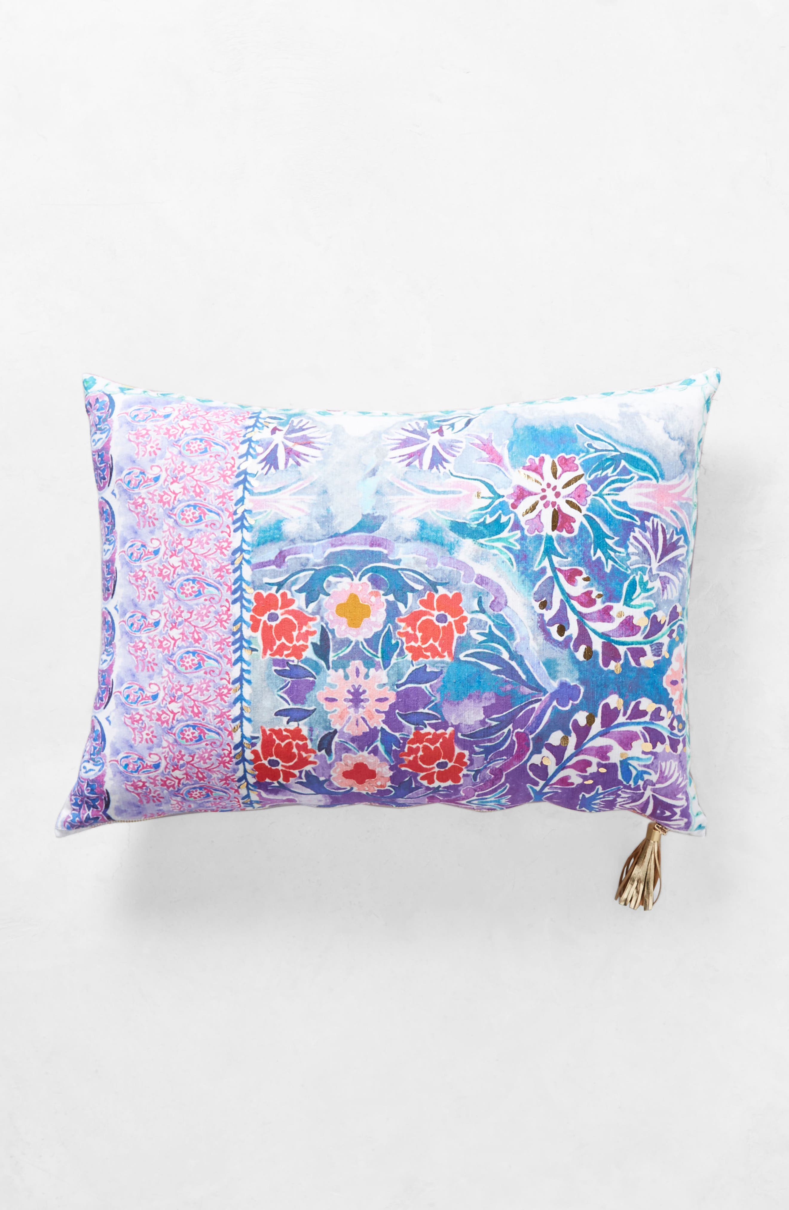 Tali Accent Pillow,                             Alternate thumbnail 6, color,                             Blue