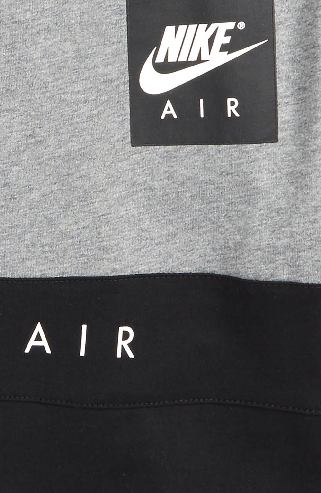 Air Shirt,                             Alternate thumbnail 2, color,                             Carbon Heather/ Black