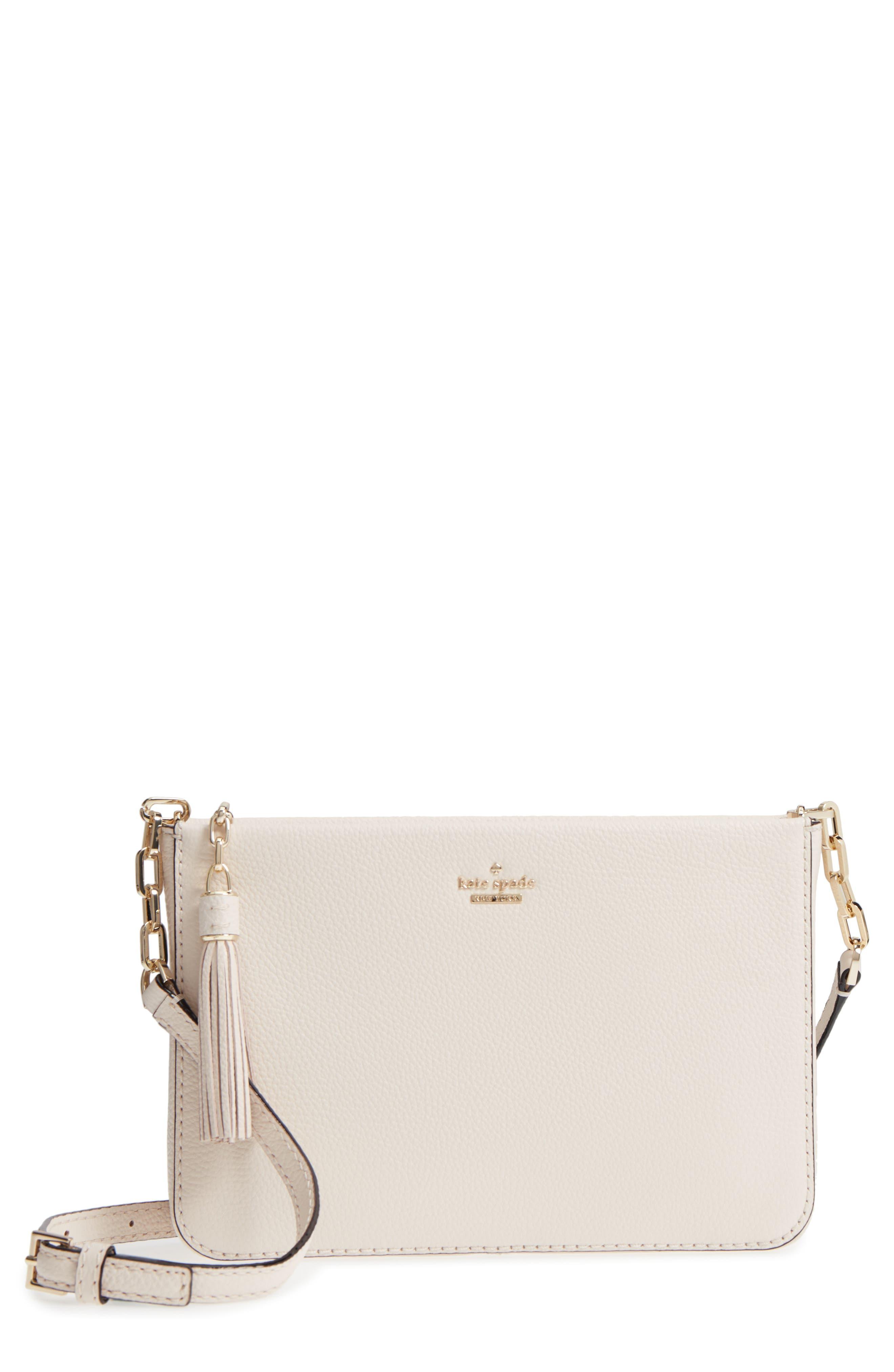 kate spade new york kingston drive - alessa leather shoulder/crossbody bag