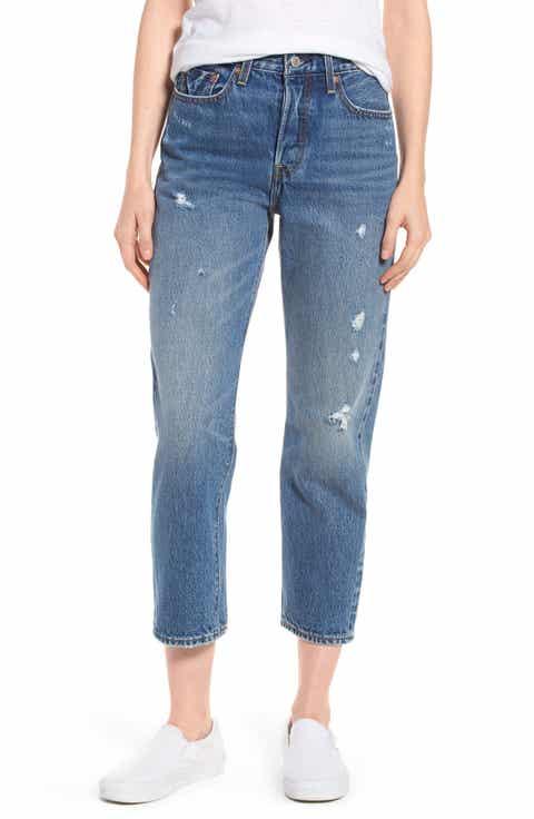 Levis? Wedgie High Waist Straight Jeans (Before Dawn)