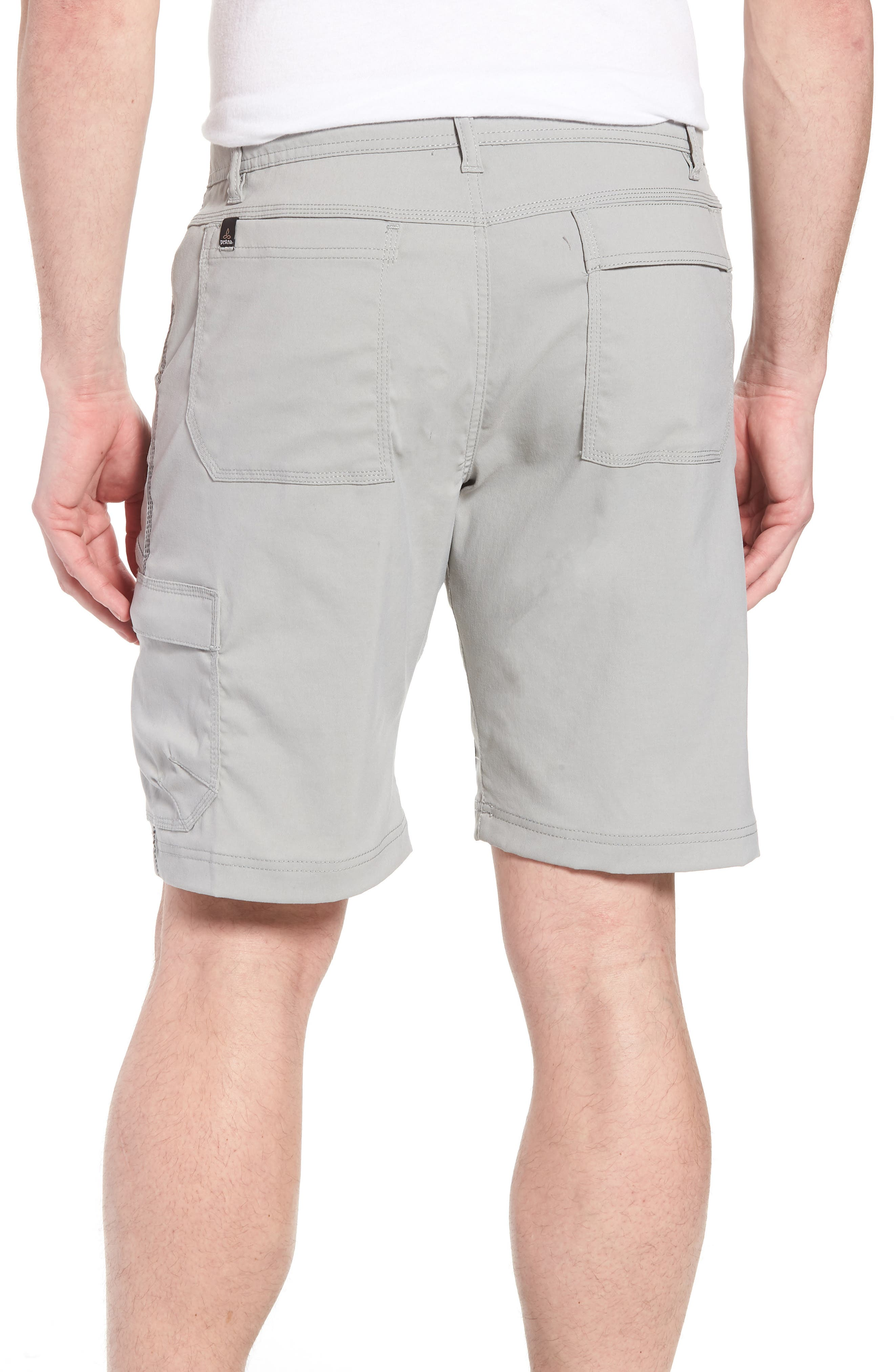 Zion Stretch Shorts,                             Alternate thumbnail 2, color,                             Grey
