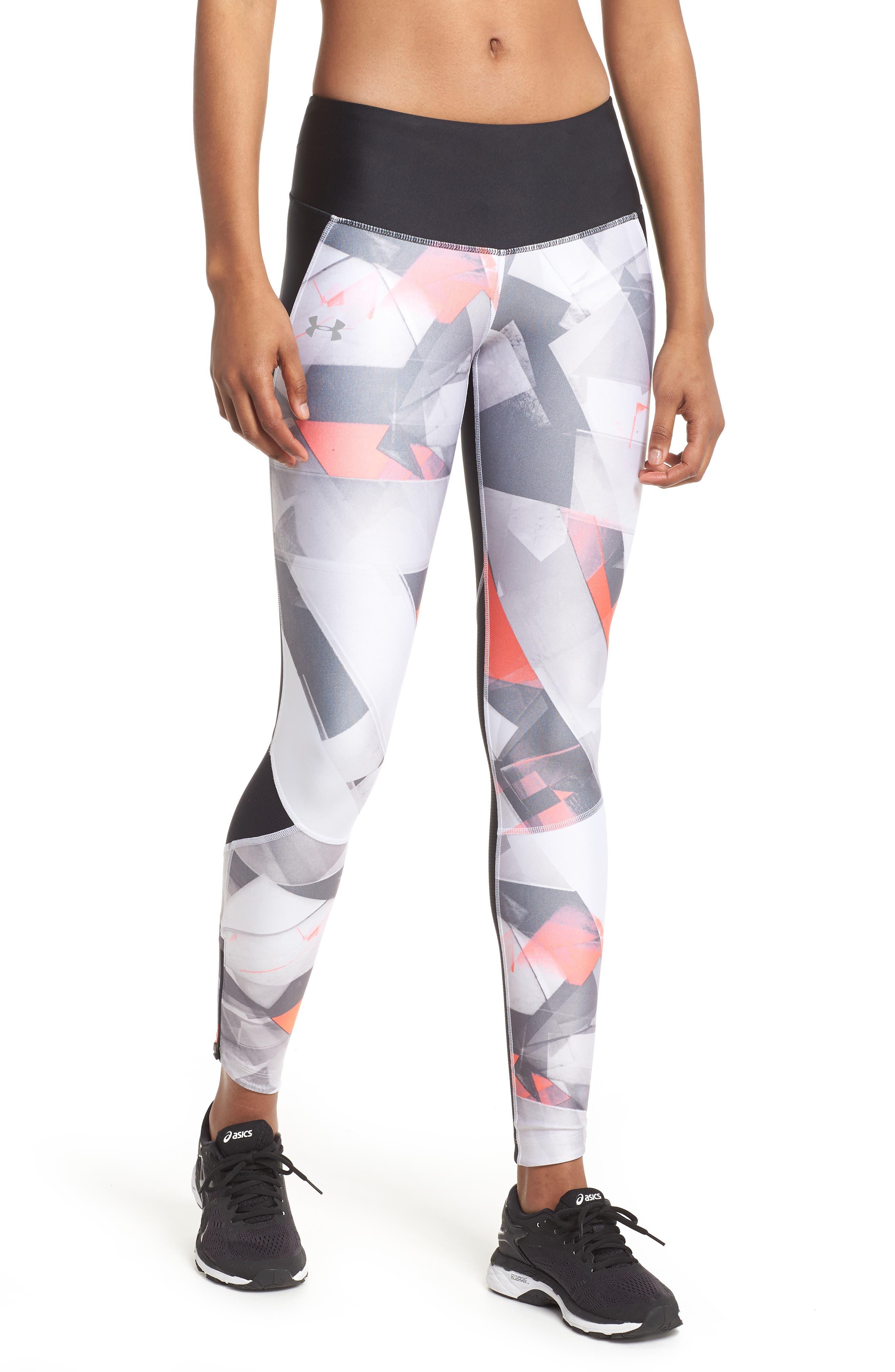 Fly Fast HeatGear<sup>®</sup> Leggings,                         Main,                         color, Black