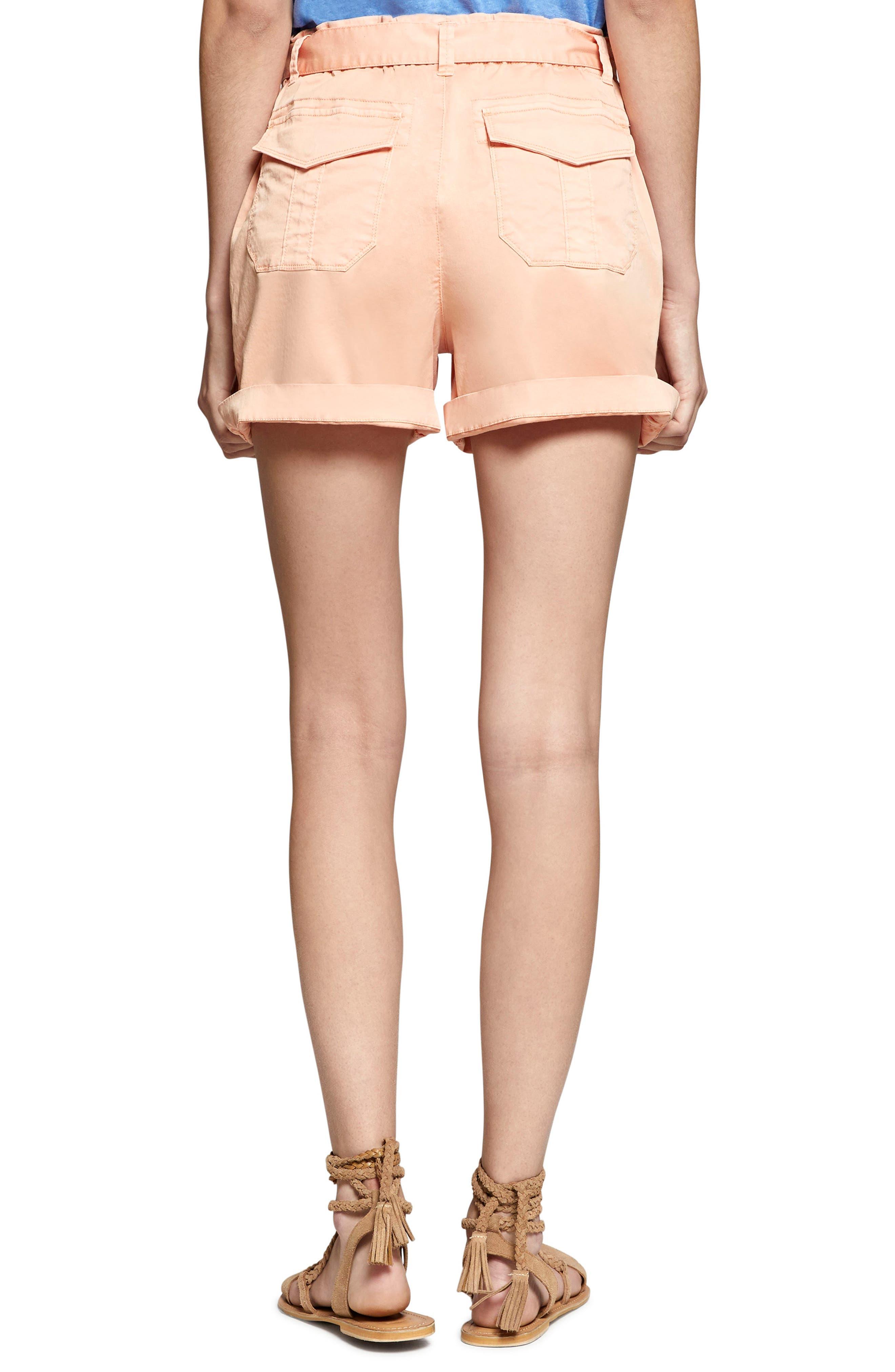 Daydreamer Shorts,                             Alternate thumbnail 2, color,                             Washed Papaya