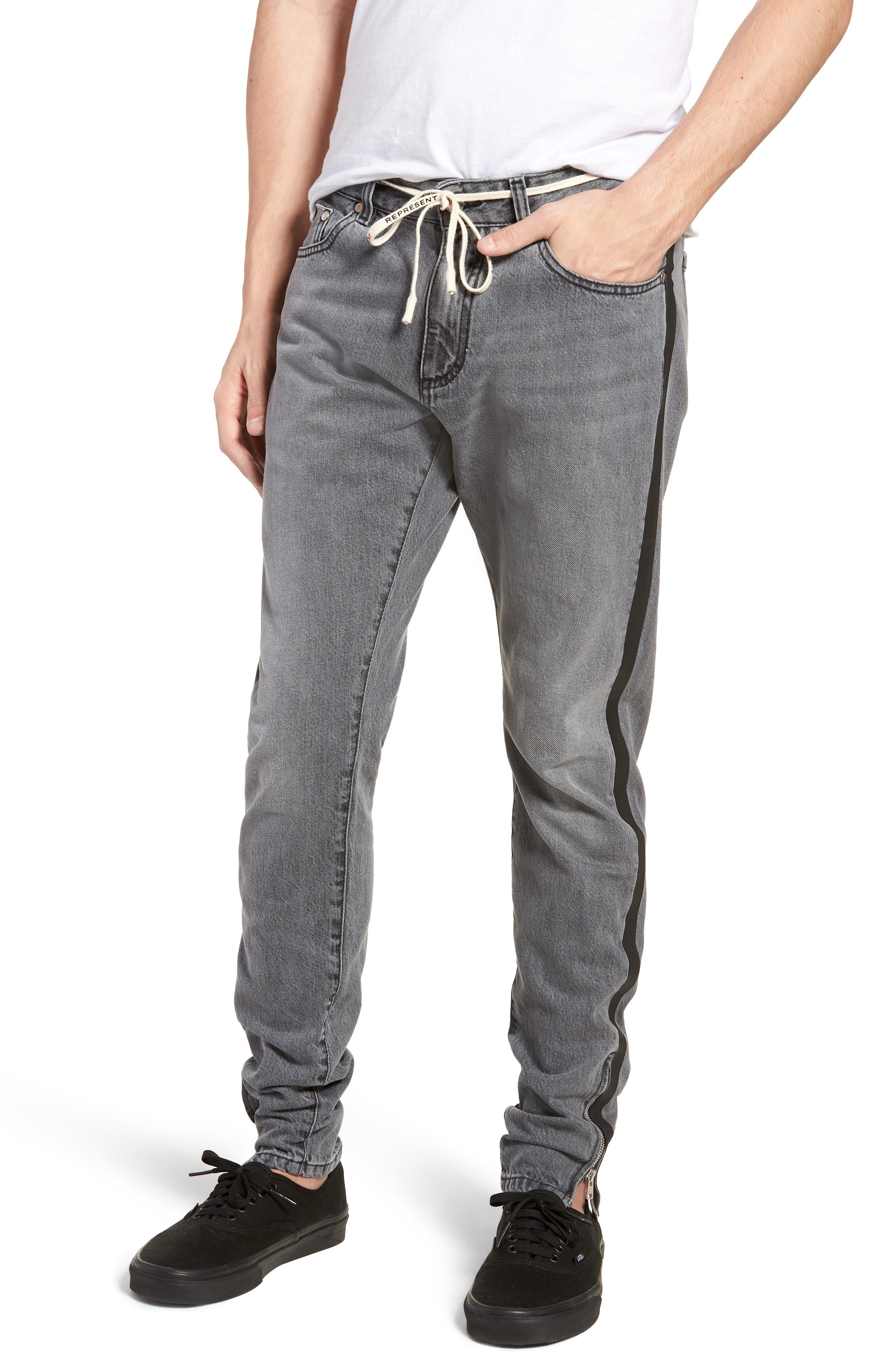 Represent Repairer Slim Fit Denim Pants