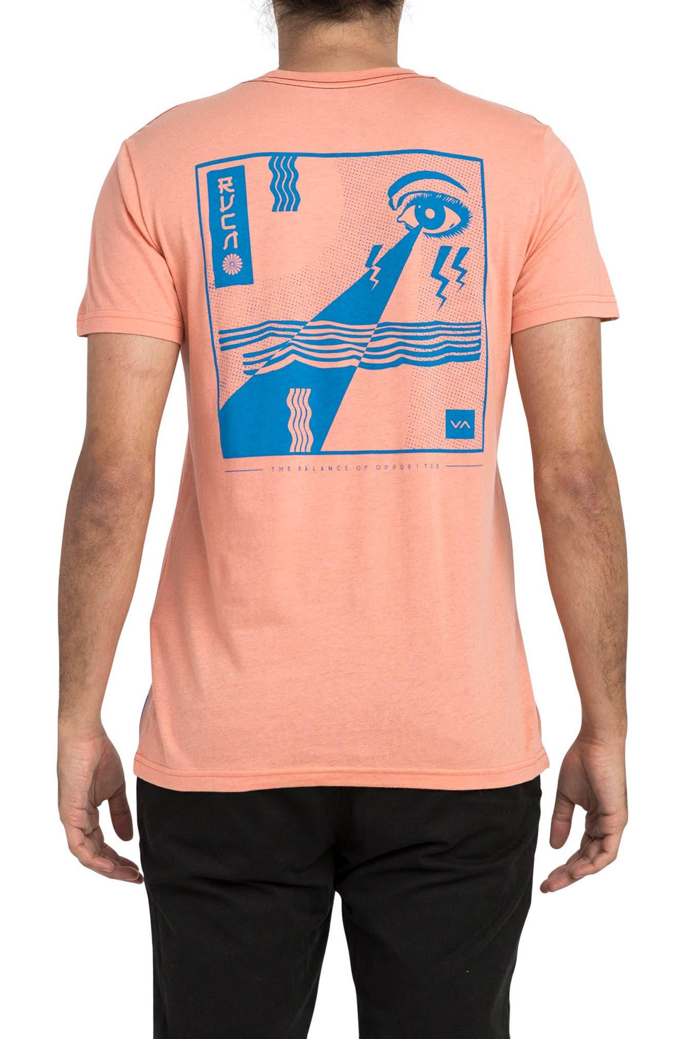 Eye Sight Graphic T-Shirt,                             Alternate thumbnail 2, color,                             Terracotta