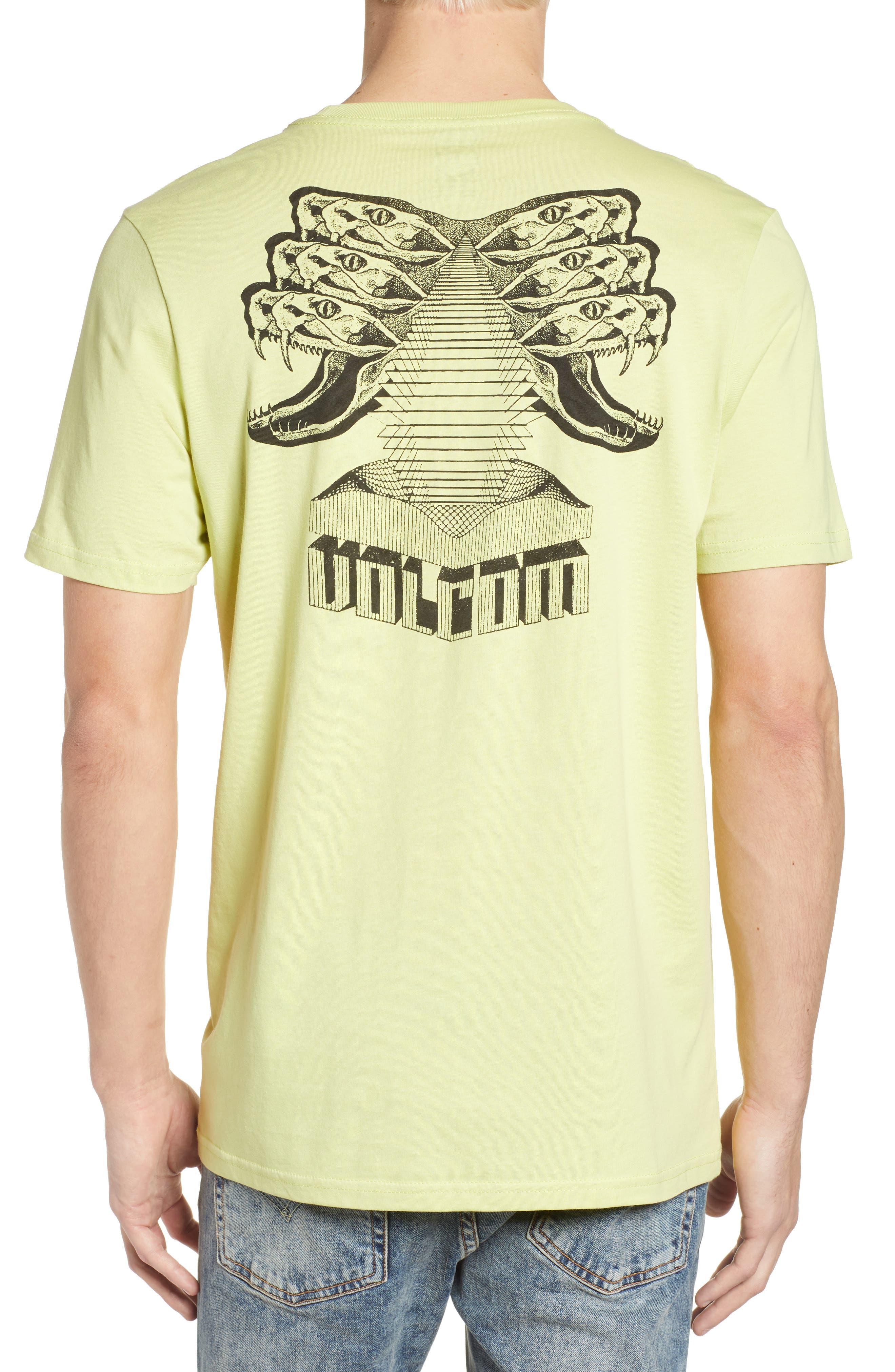 Digital Poison Graphic T-Shirt,                             Alternate thumbnail 2, color,                             Lime