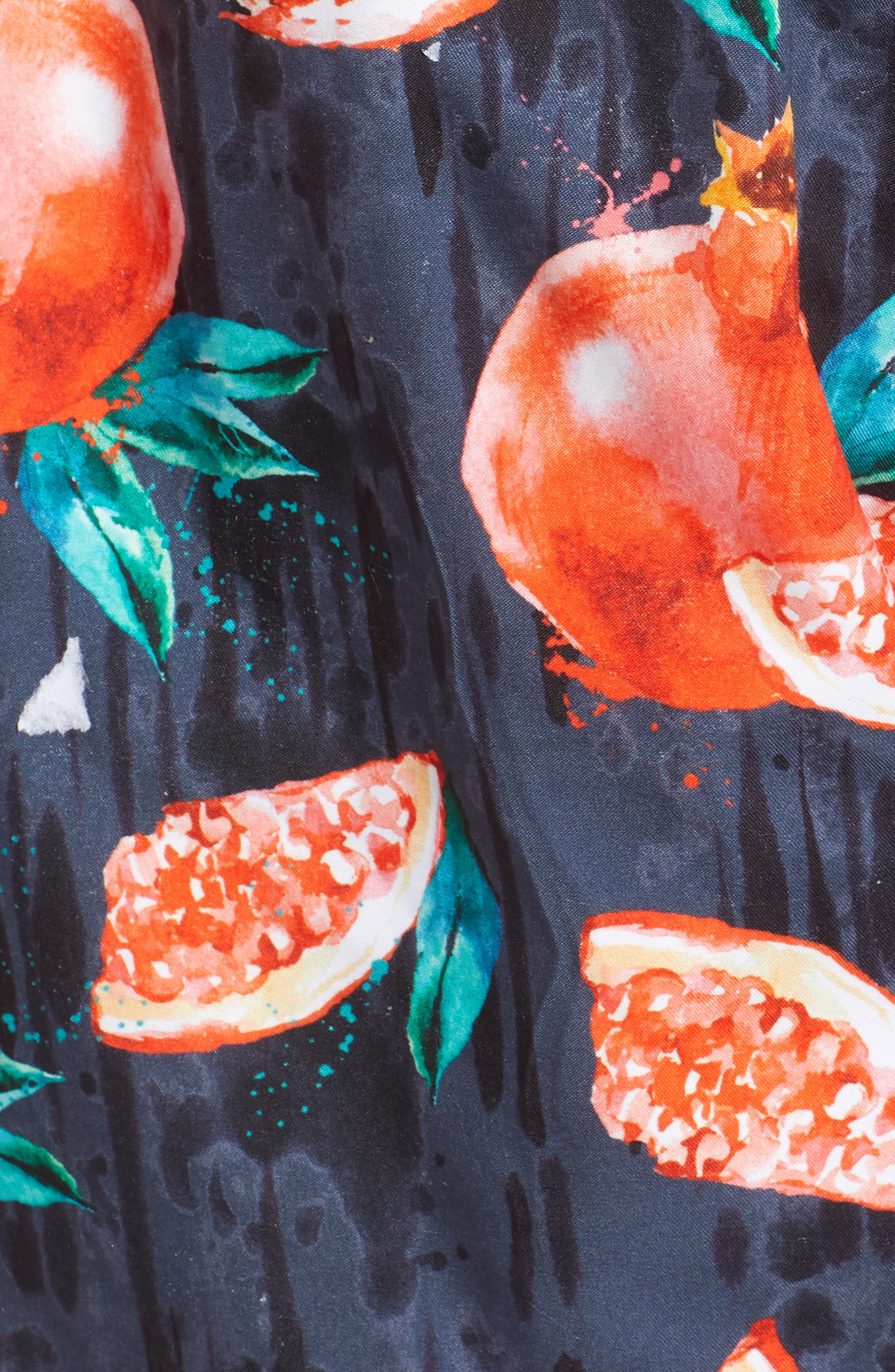 Threadfin Pomegranate Swim Trunks,                             Alternate thumbnail 5, color,                             Grey