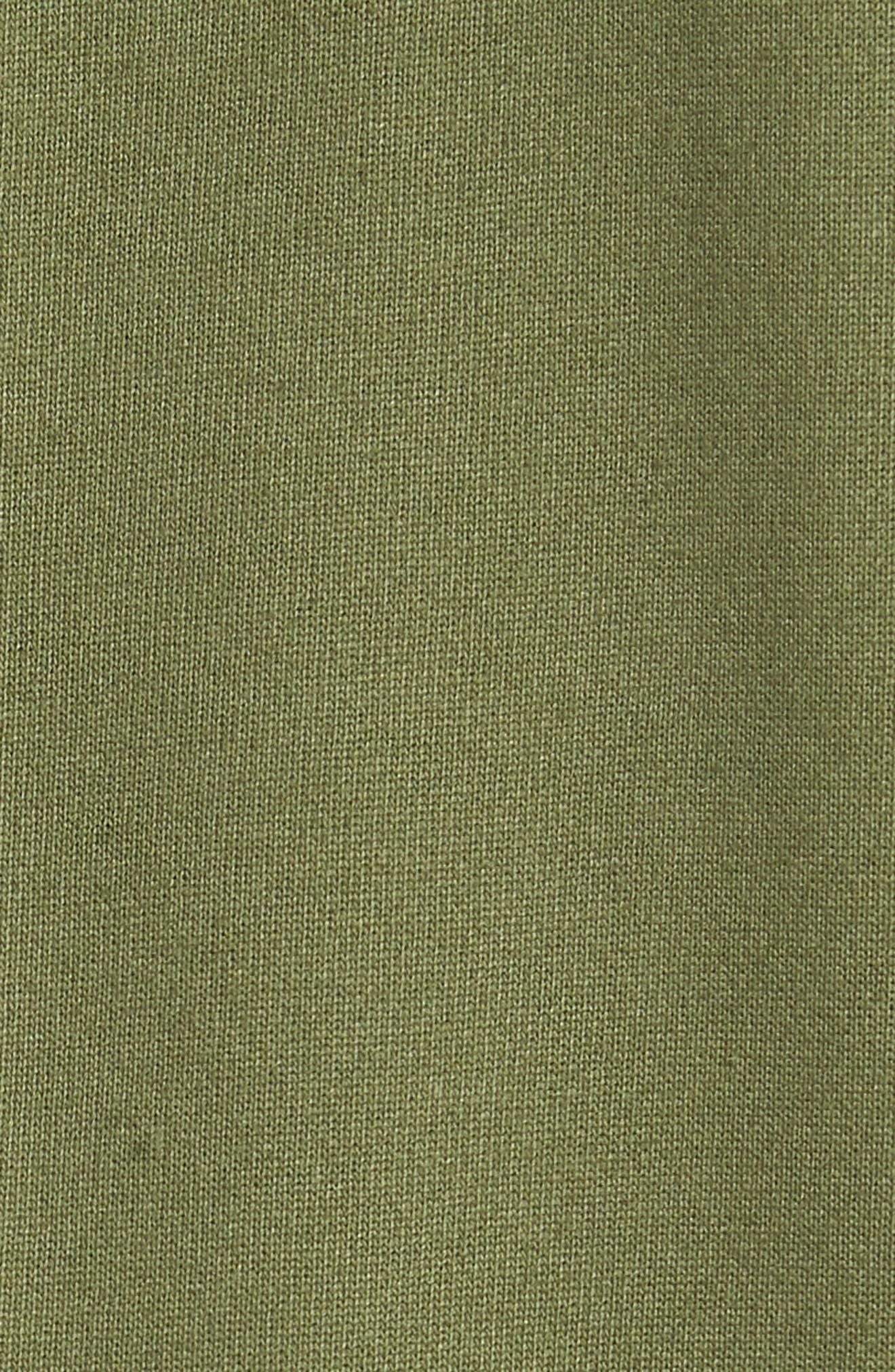 Core Hybrid Archive Sweatshirt,                             Alternate thumbnail 5, color,                             Sage