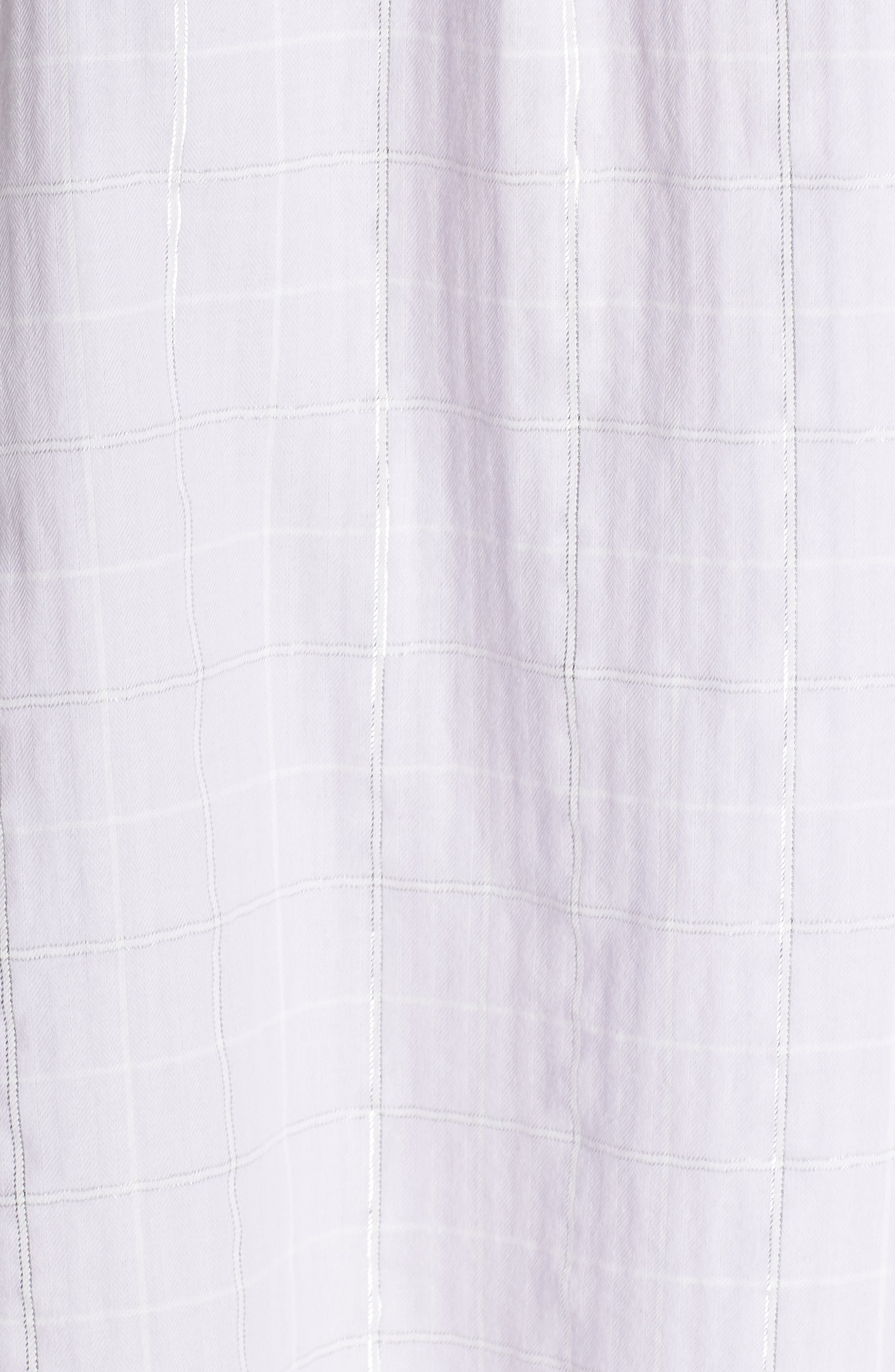 Gabri Sleep Shirt,                             Alternate thumbnail 6, color,                             Lavender Fog