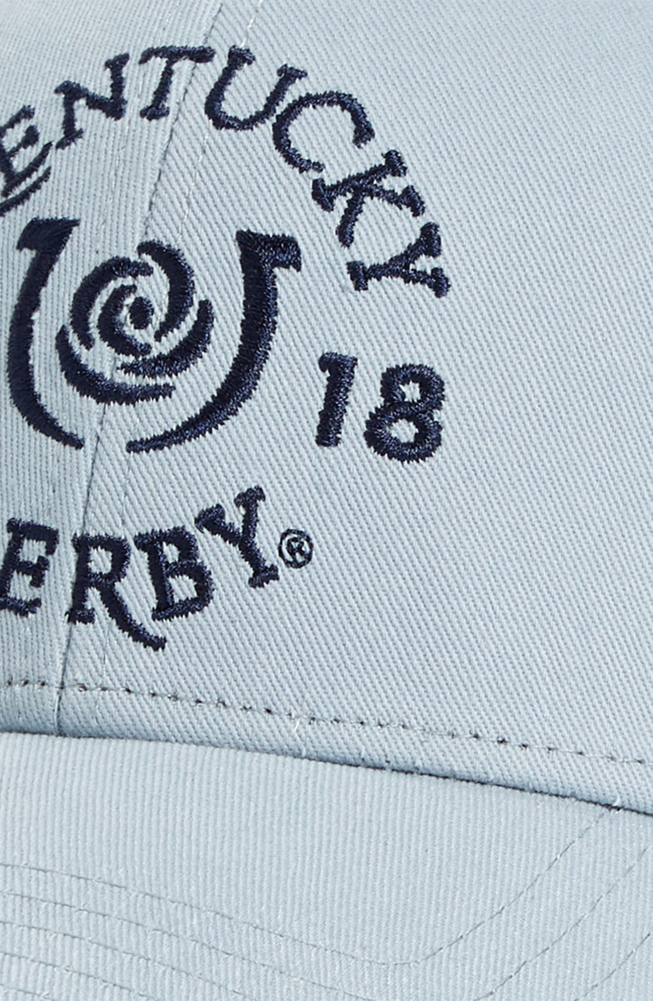 2018 Kentucky Derby<sup>®</sup> Garland of Roses Ball Cap,                             Alternate thumbnail 3, color,                             Graphite