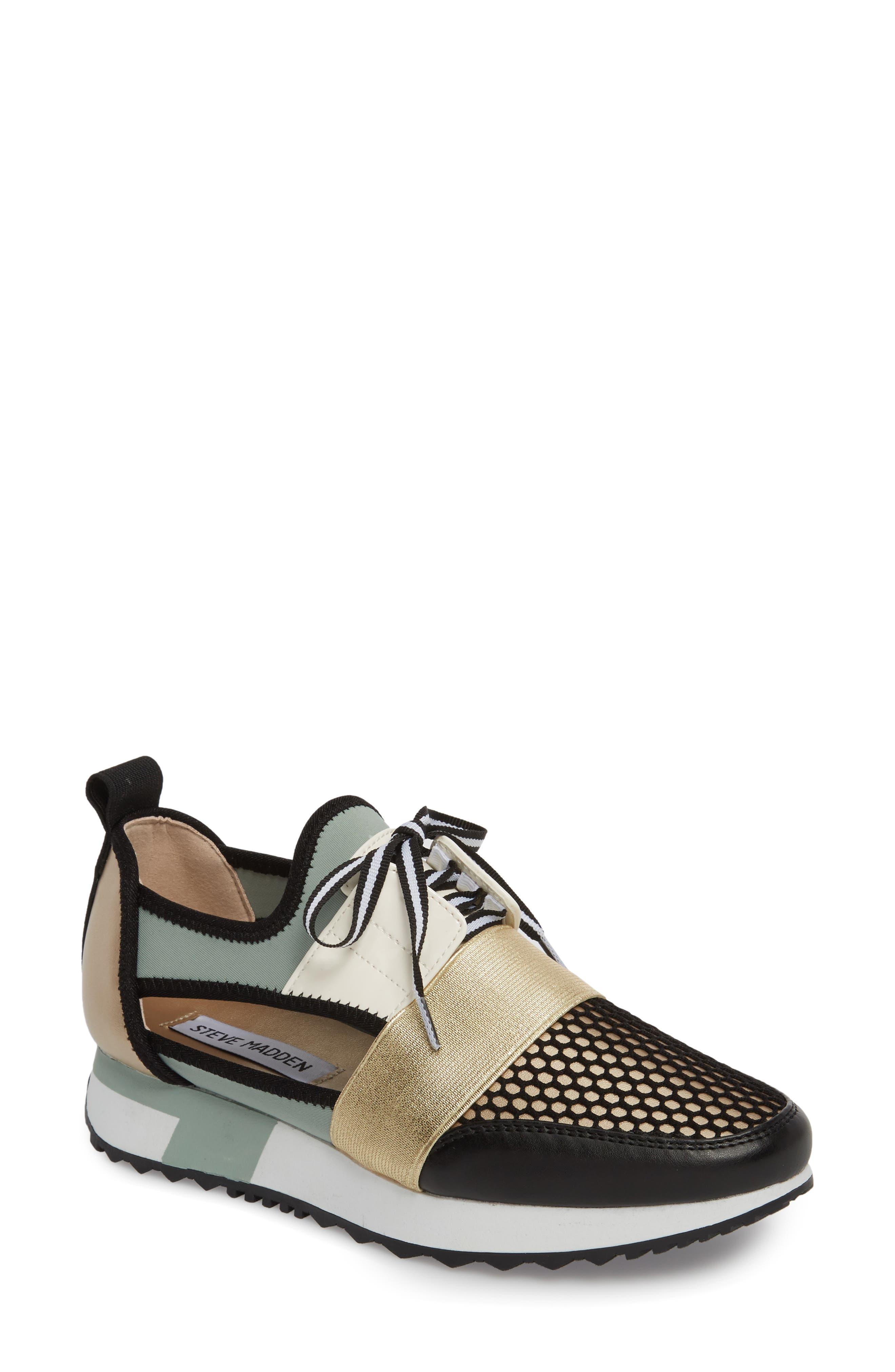 Alternate Image 1 Selected - Steve Madden Arctic Sneaker (Women)