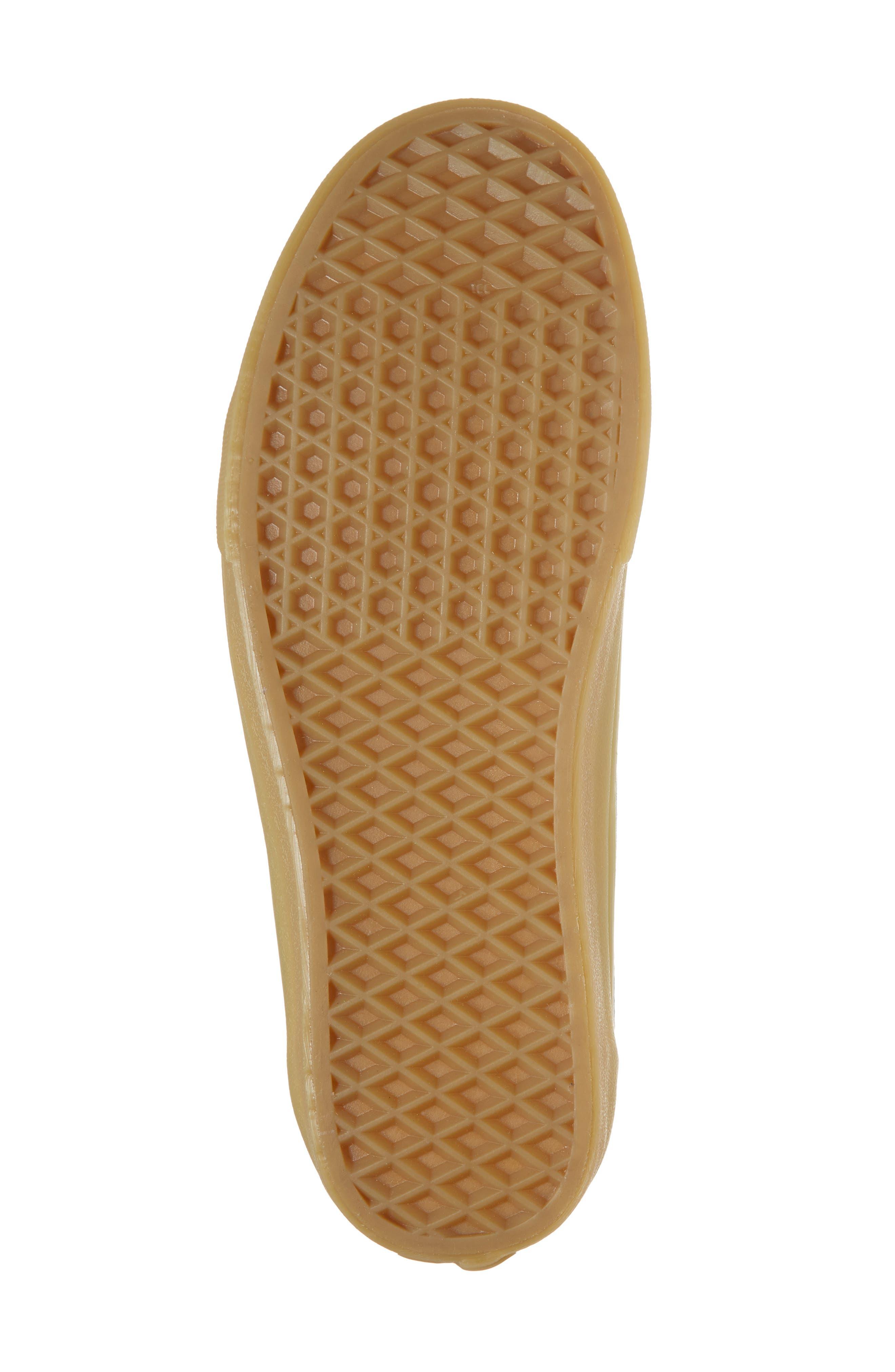 Gum Old Skool Sneaker,                             Alternate thumbnail 6, color,                             Metal Leather