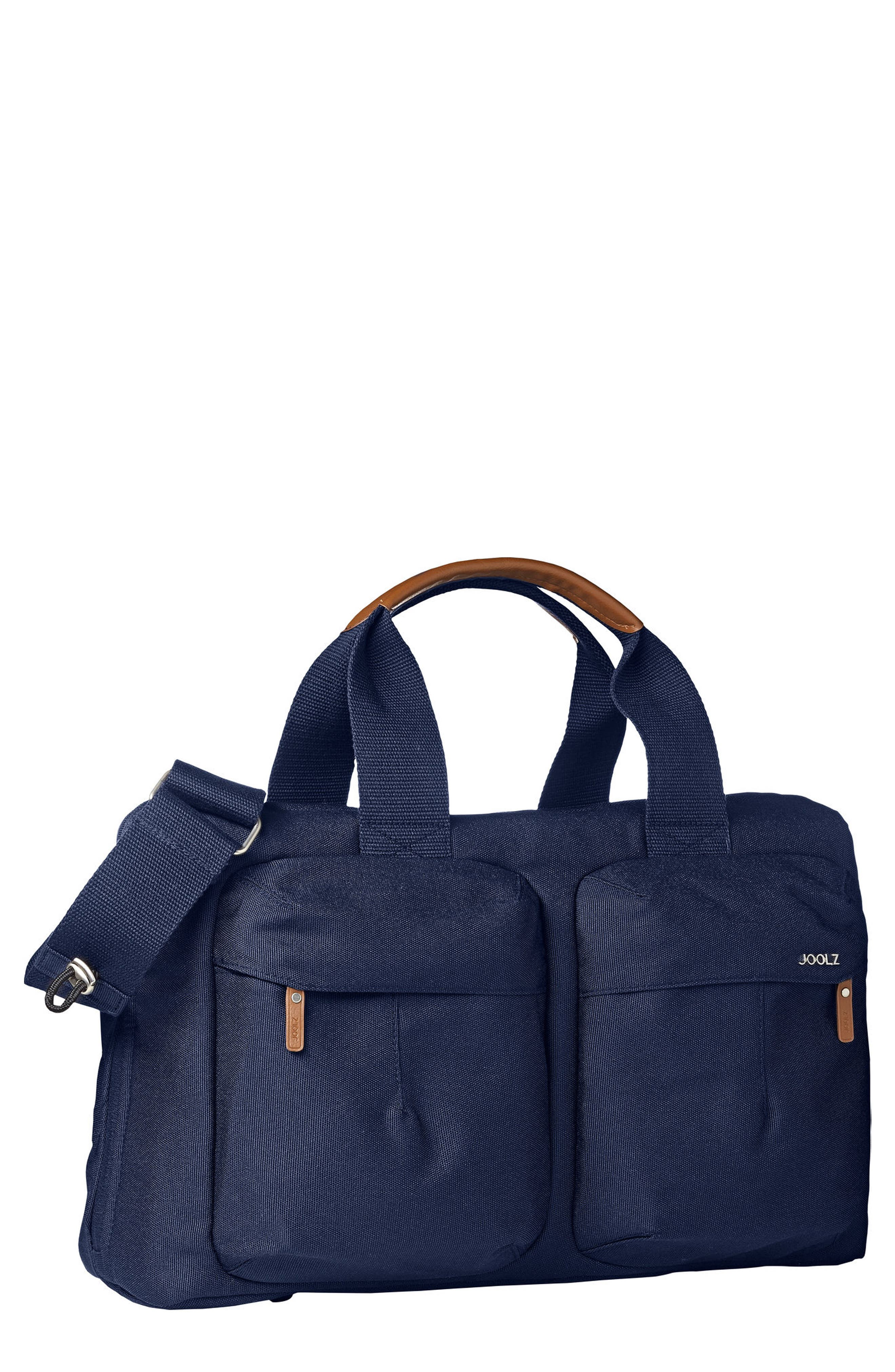 Earth Diaper Bag,                             Main thumbnail 1, color,                             Parrot Blue
