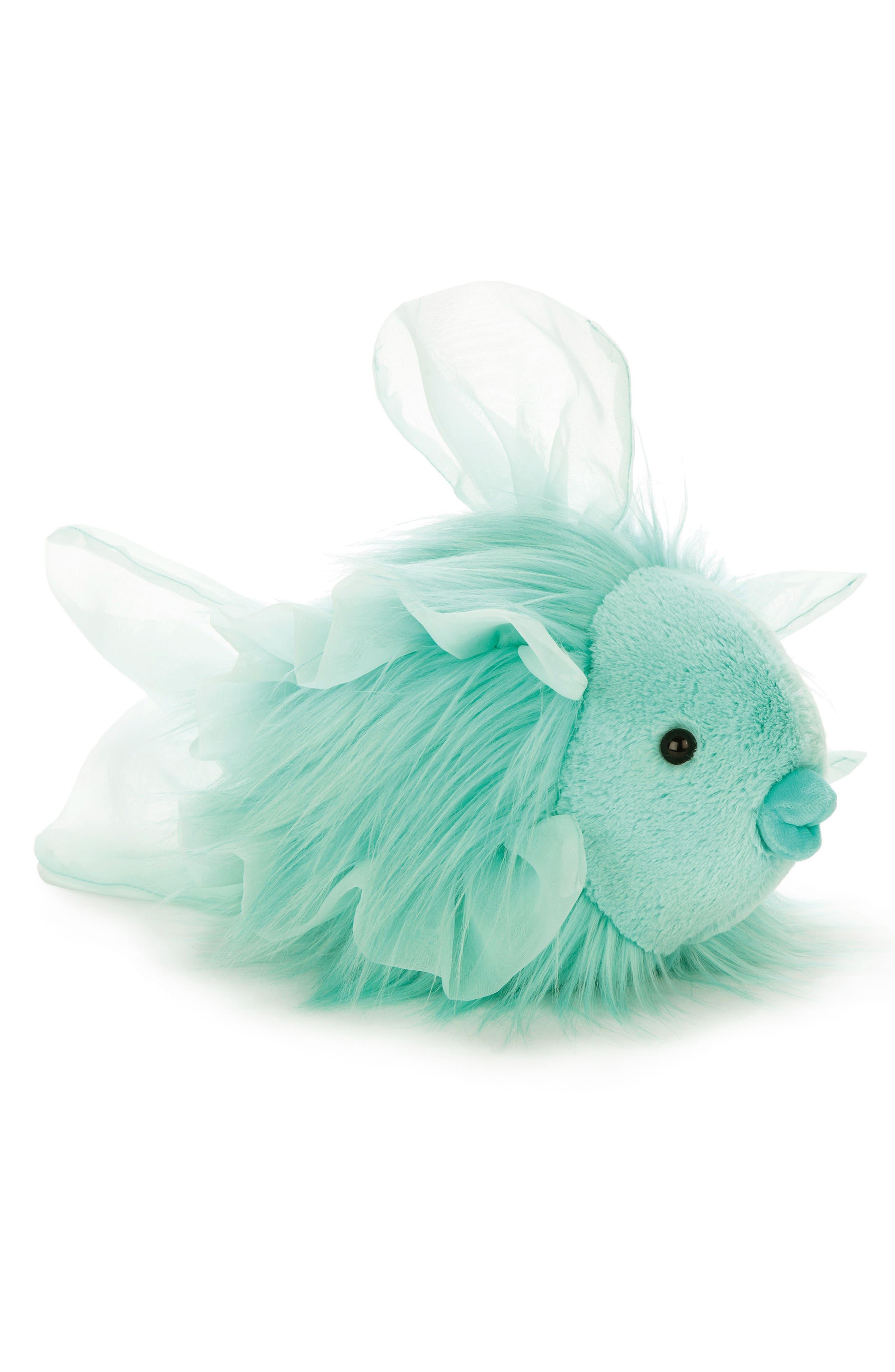 Florrie Maflish Stuffed Animal,                         Main,                         color, Aqua