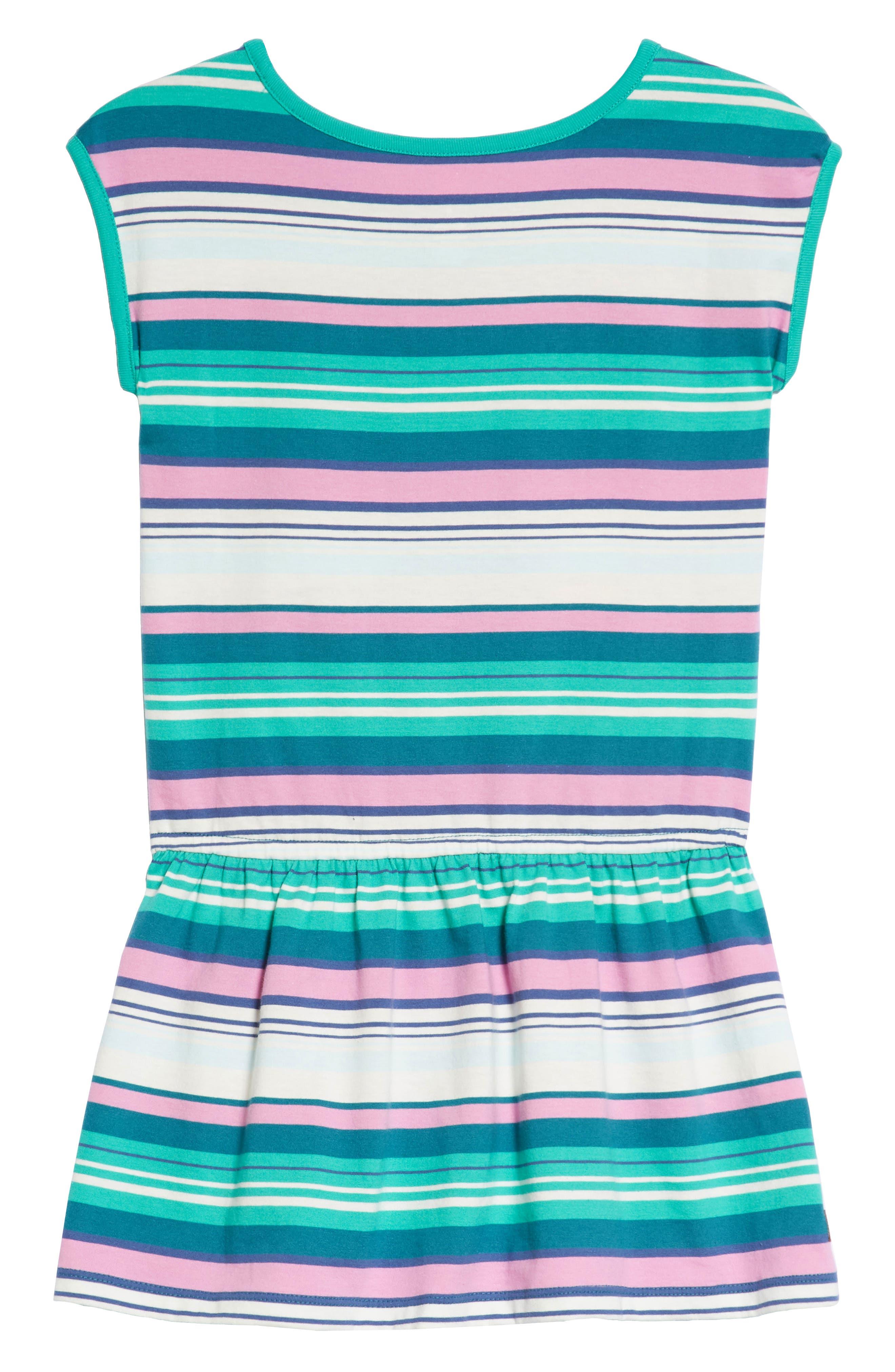 Vibrant Stripe Dress,                             Alternate thumbnail 2, color,                             Scuba