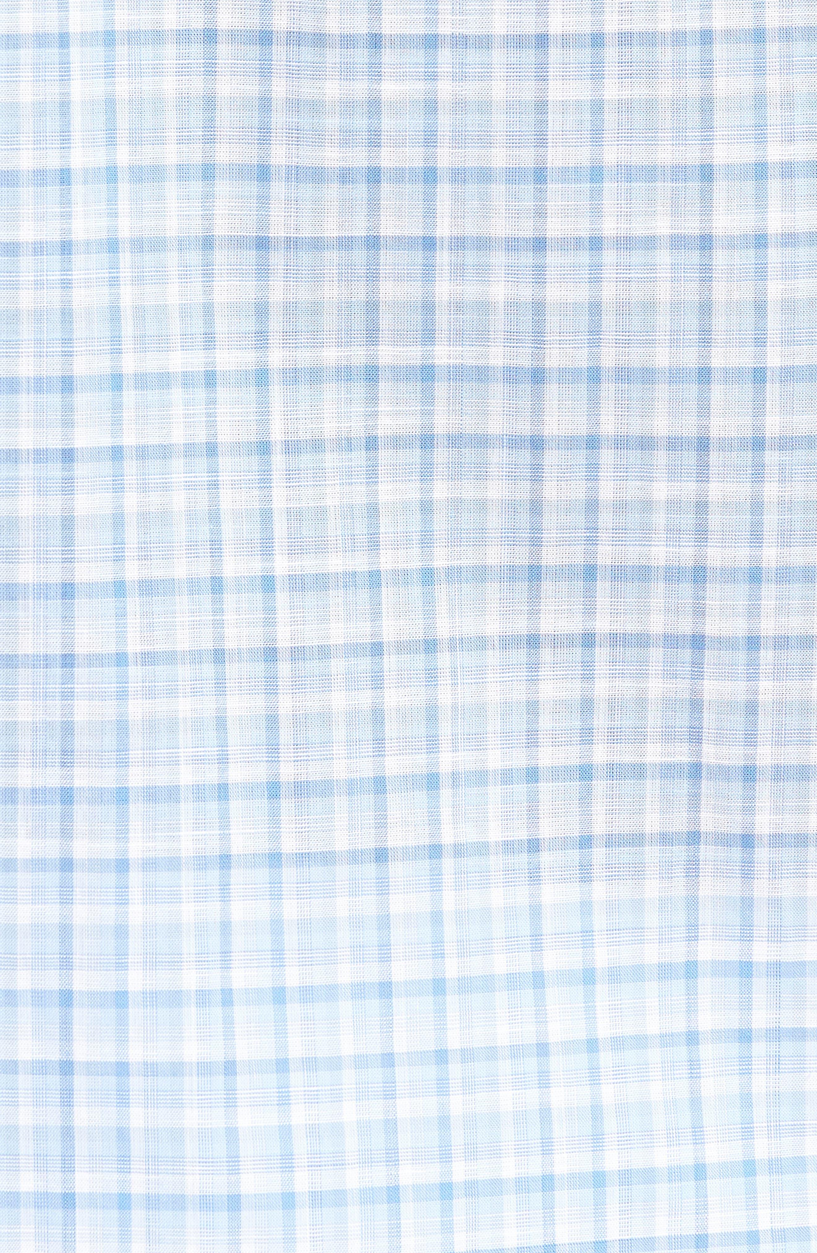 Suresh Regular Fit Sport Shirt,                             Alternate thumbnail 5, color,                             Sky
