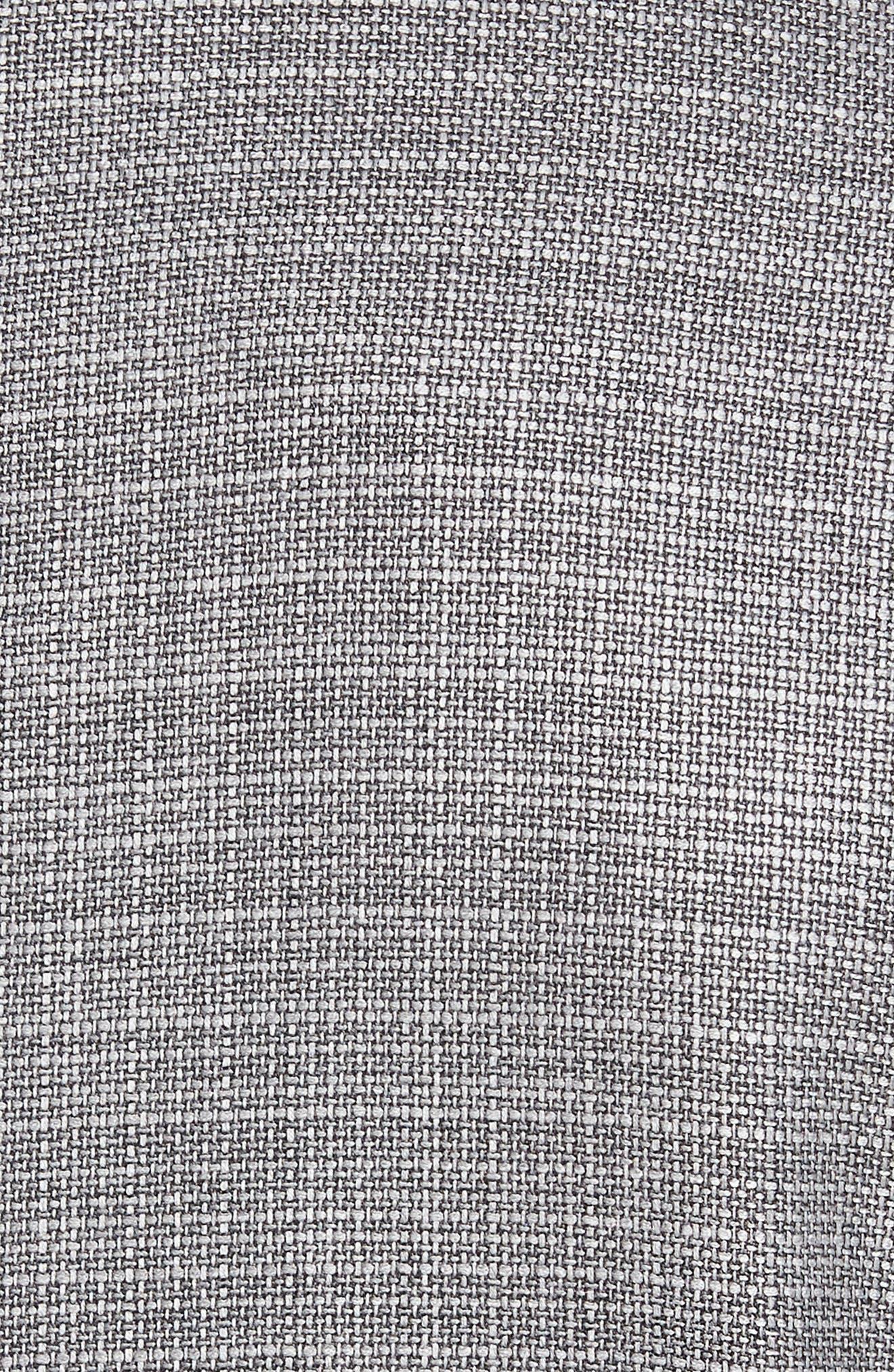 Trim Fit Wool Blazer,                             Alternate thumbnail 5, color,                             Silver