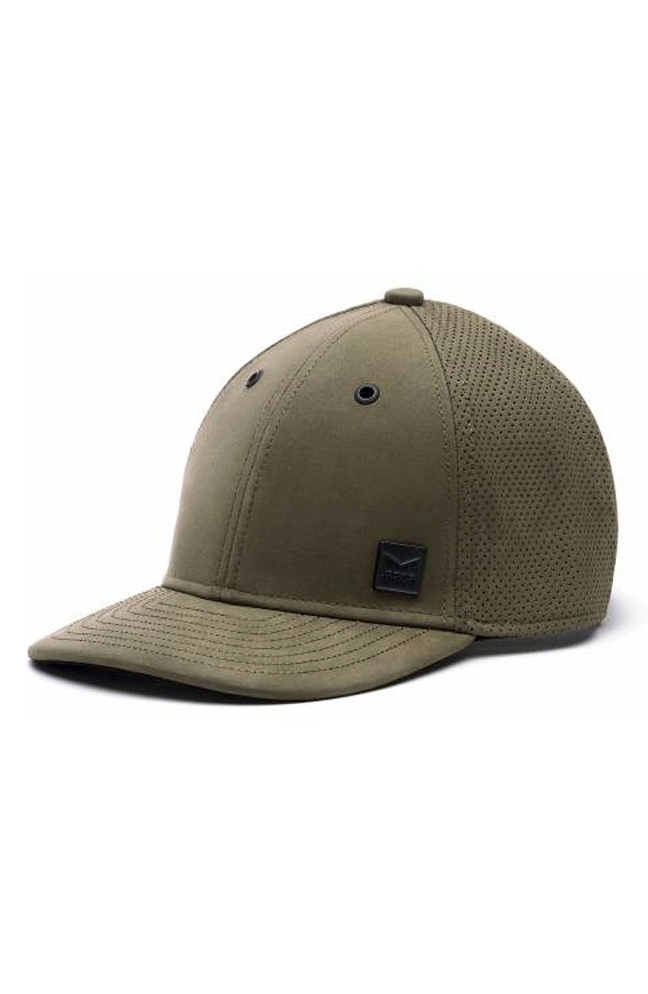 Voyage Elite Leather Ball Cap,                         Main,                         color, Moss