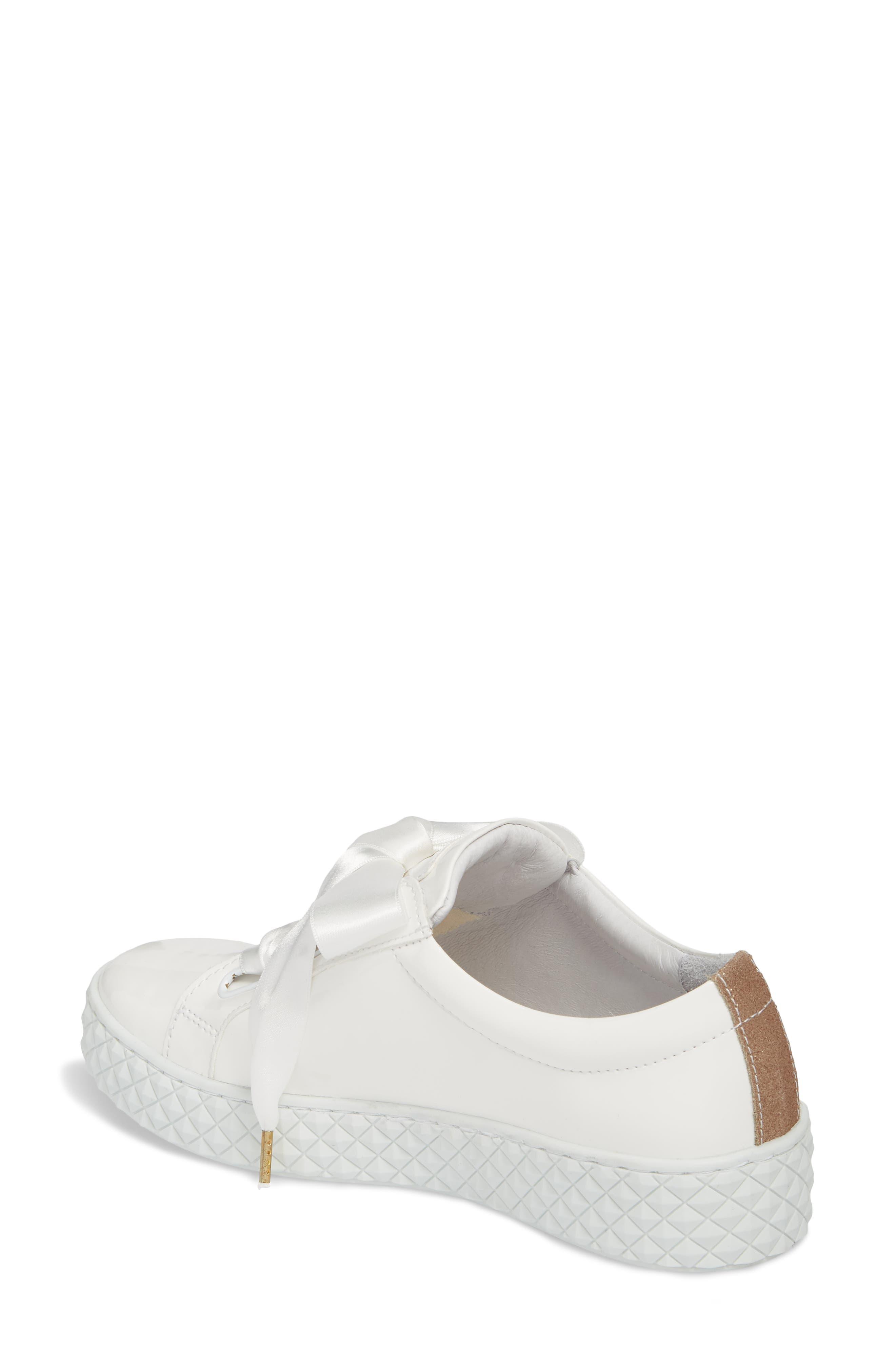 Acton Sneaker,                             Alternate thumbnail 2, color,                             White Patent