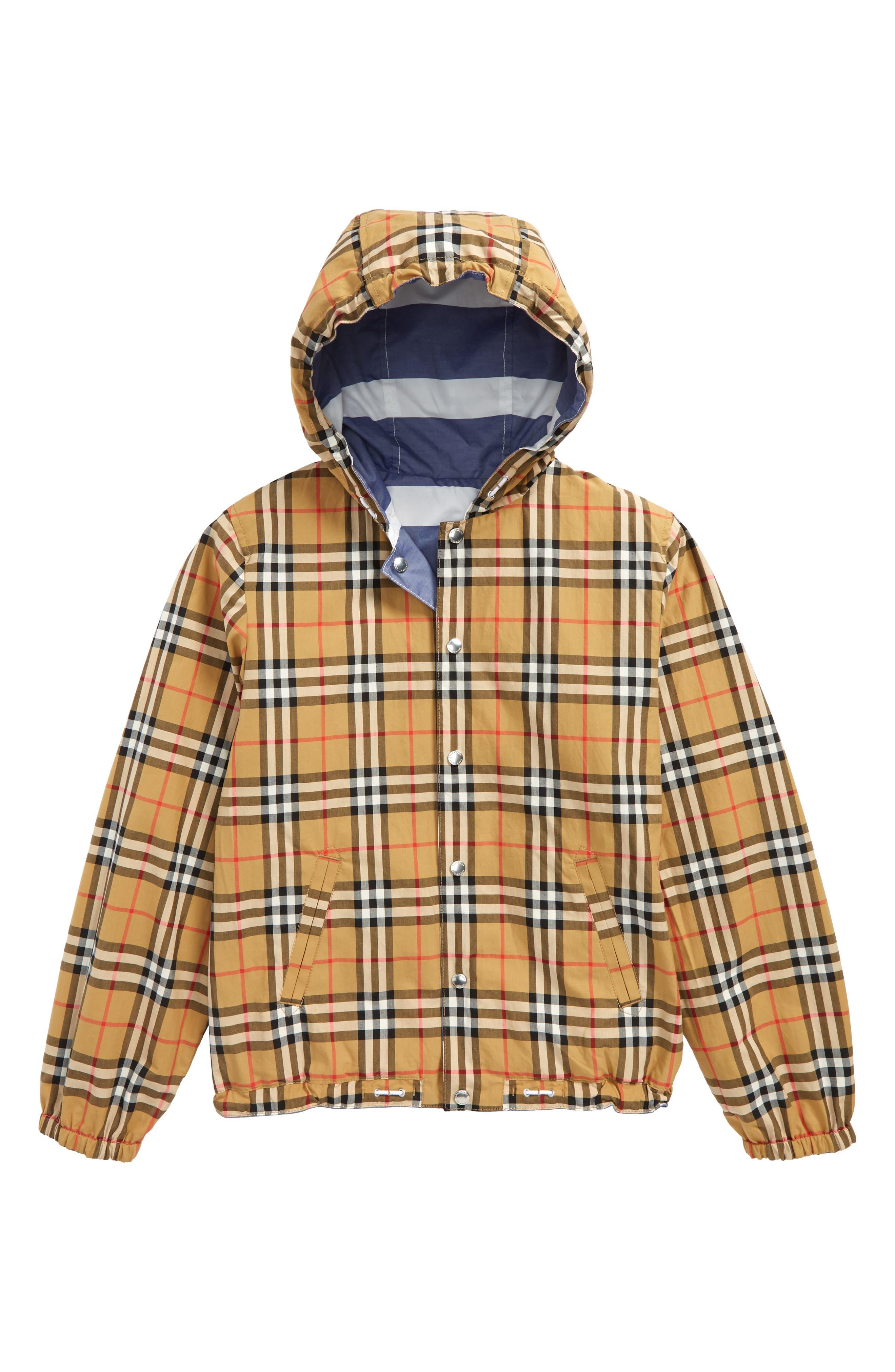 Mayer Reversible Hooded Jacket,                             Alternate thumbnail 2, color,                             Navy/ White