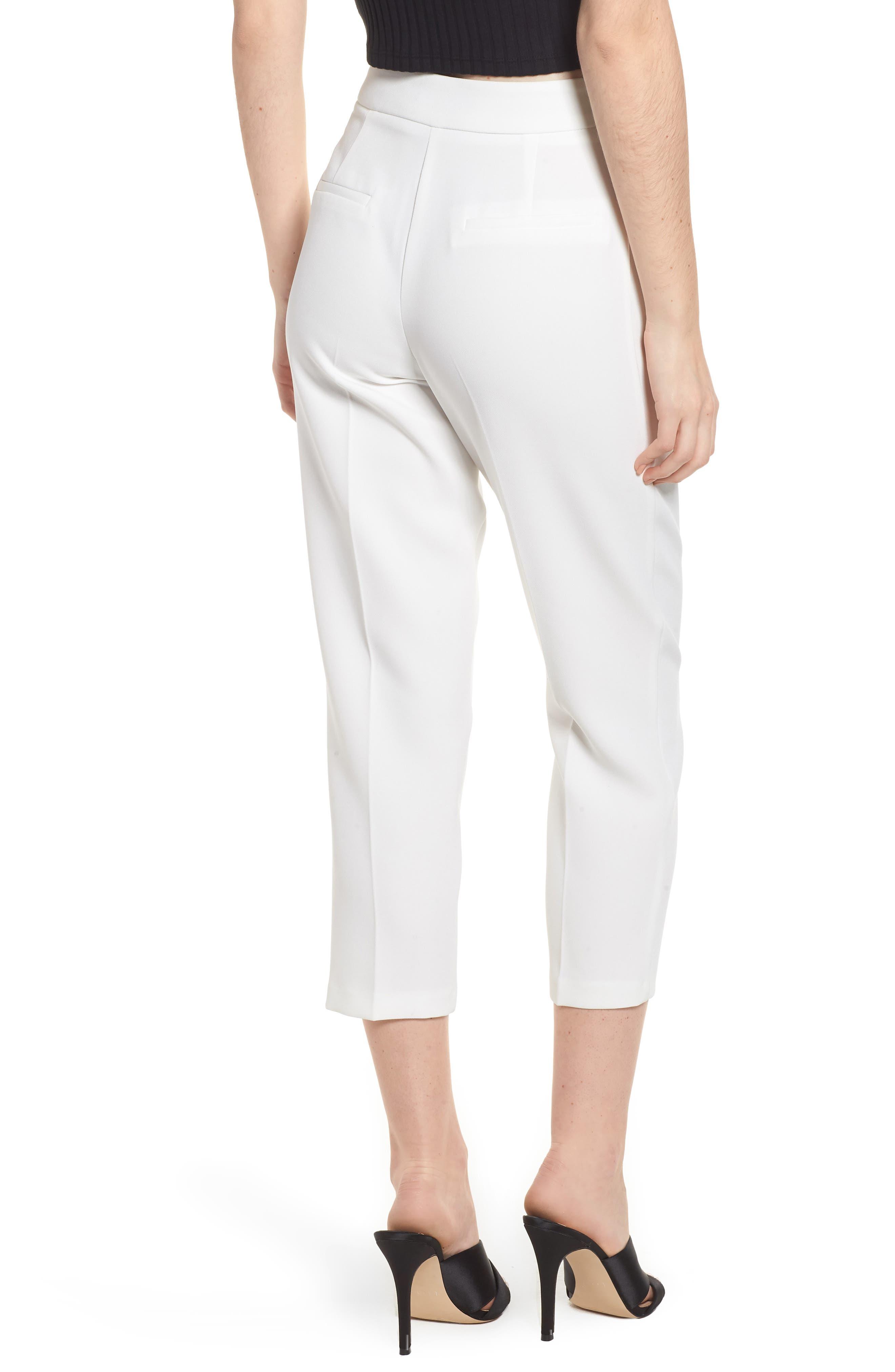 Alternate Image 2  - Topshop Clean Pocket Peg Trousers