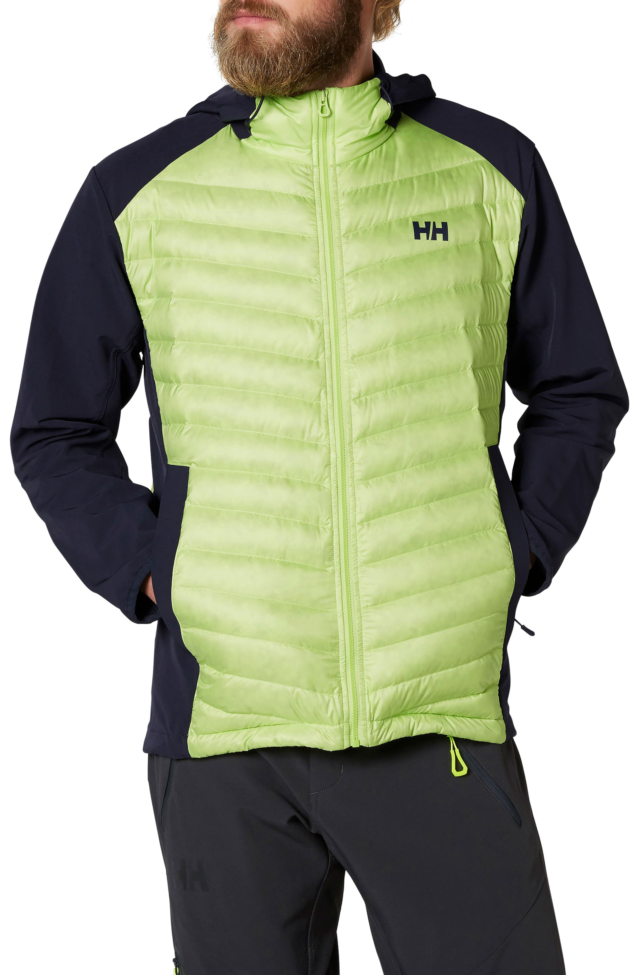 Verglas Light Down Jacket,                         Main,                         color, Sharp Green