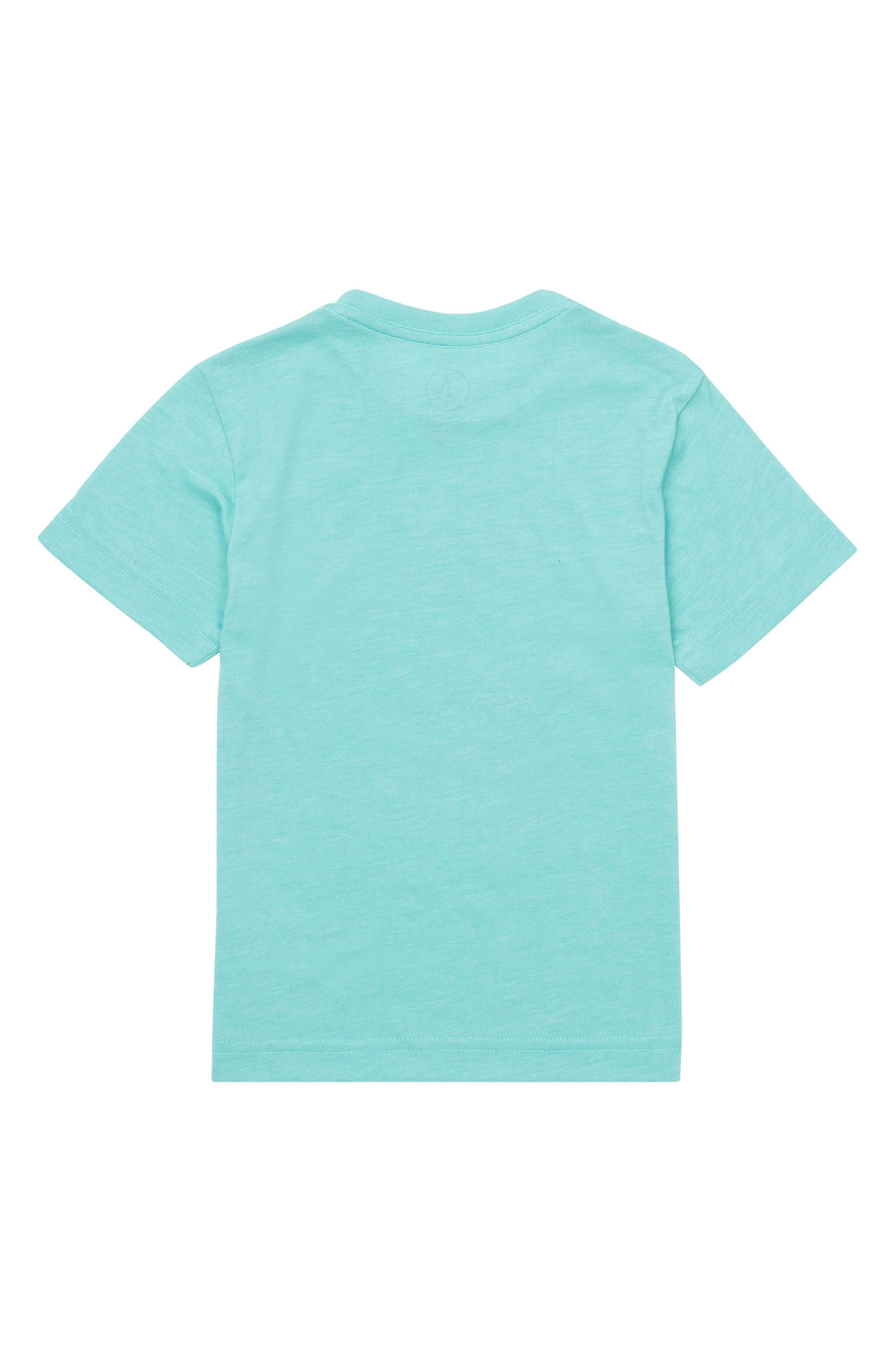 Statiq Graphic T-Shirt,                             Alternate thumbnail 2, color,                             Turquoise