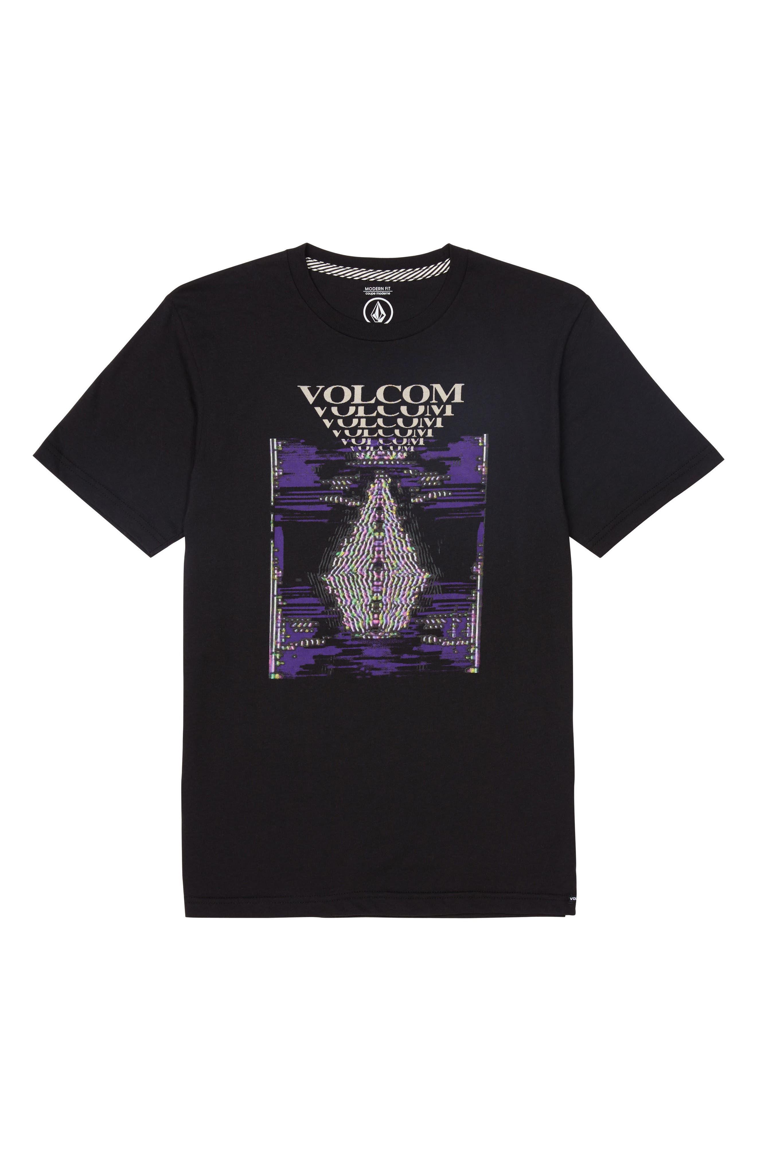 Digi Pool Graphic T-Shirt,                         Main,                         color, Black