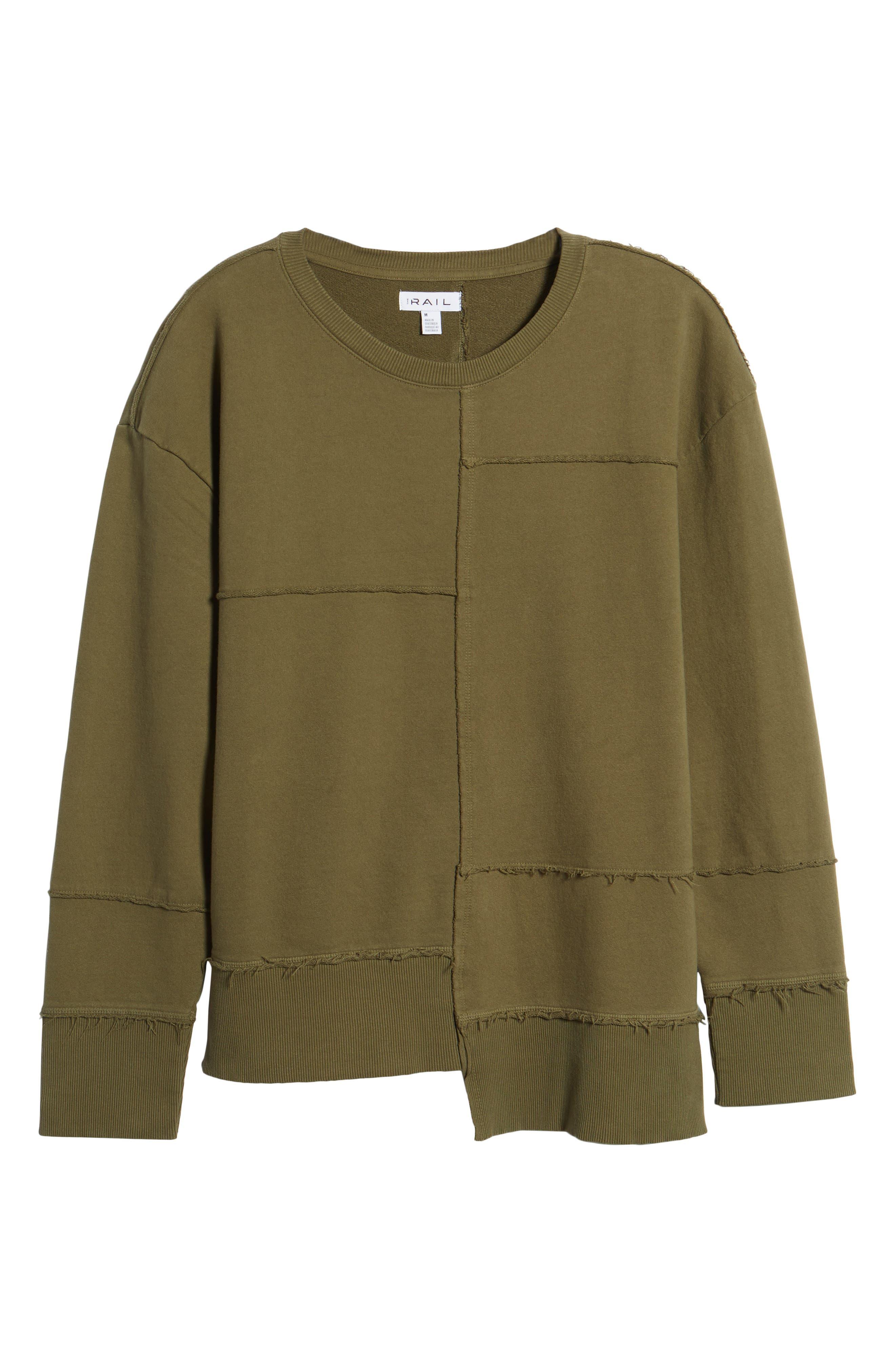 Alternate Image 6  - The Rail Splice Sweatshirt