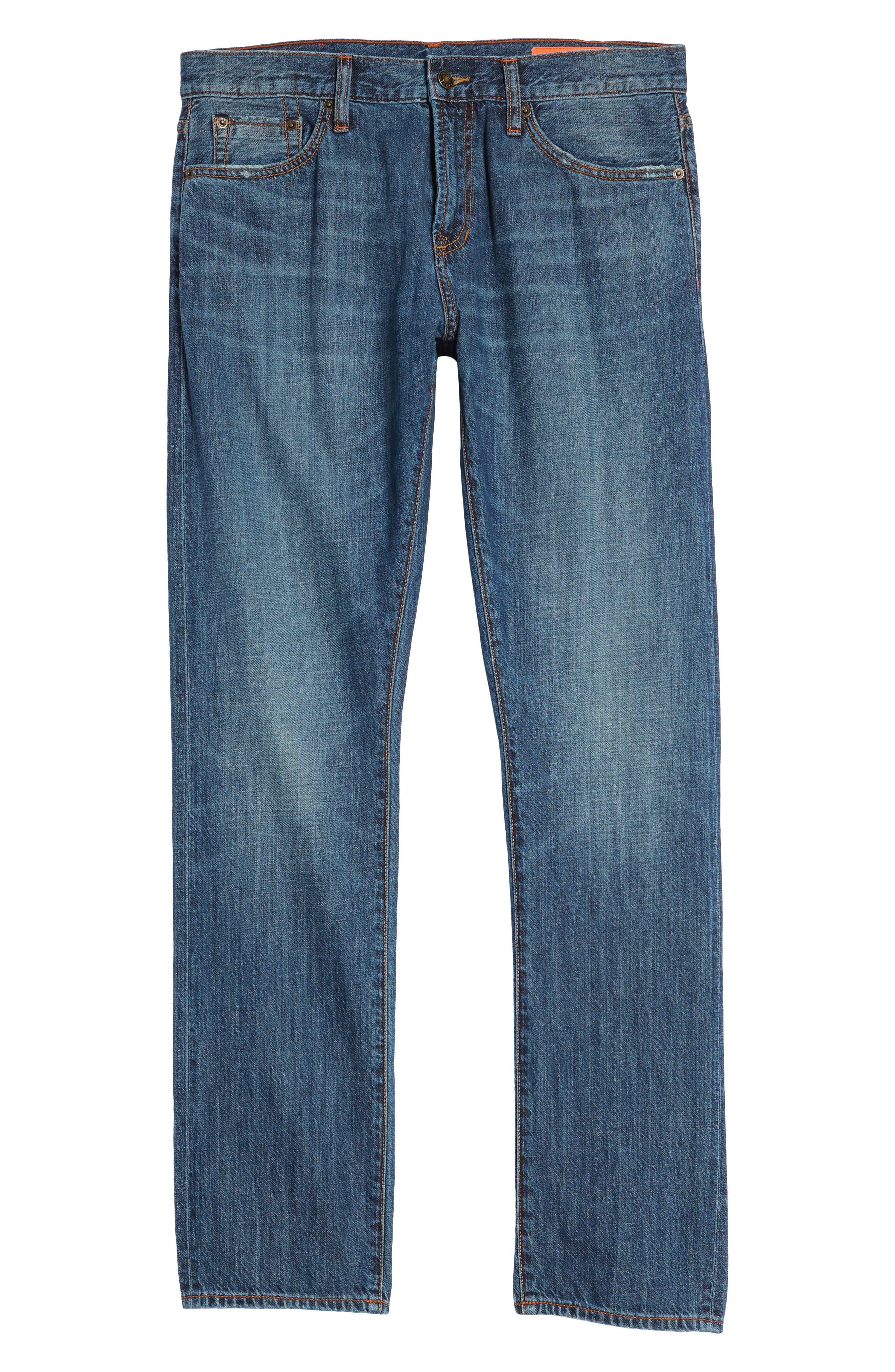 Jim Slim Fit Jeans,                             Alternate thumbnail 6, color,                             Greenwood