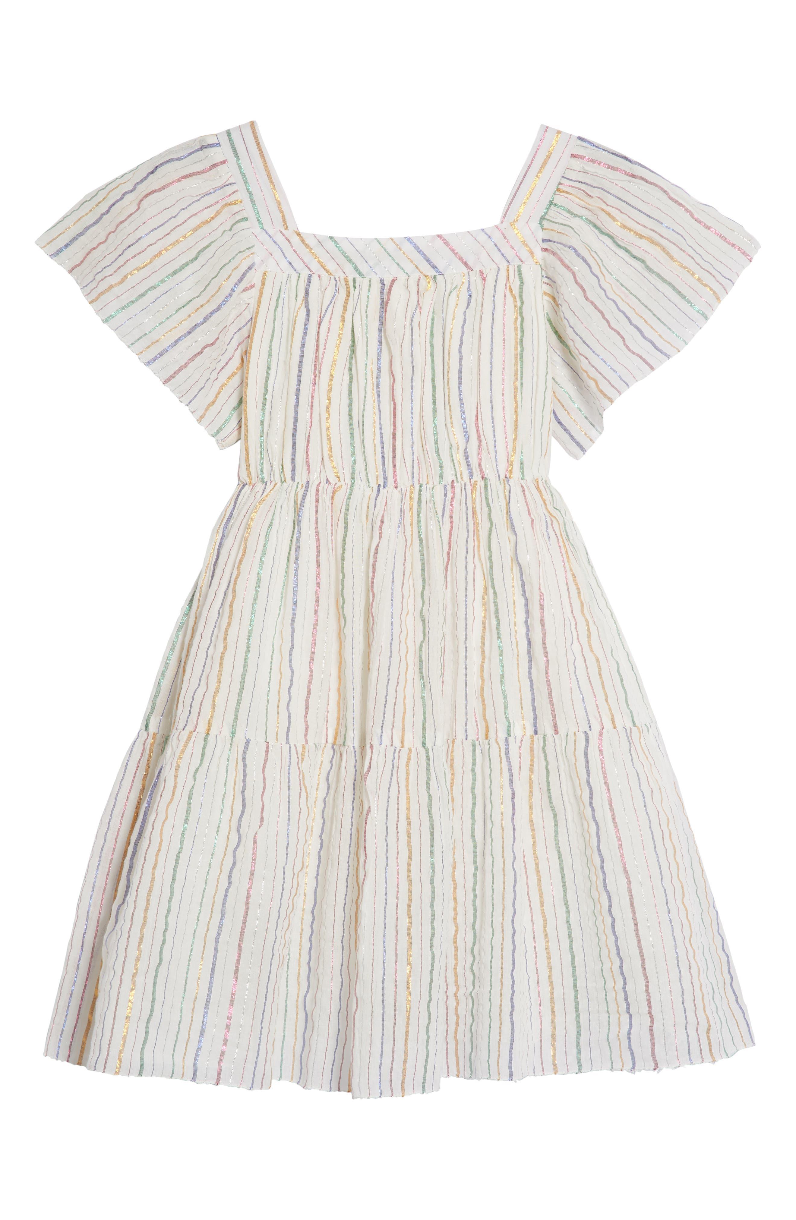 Sienna Dress,                         Main,                         color, Rose Gold
