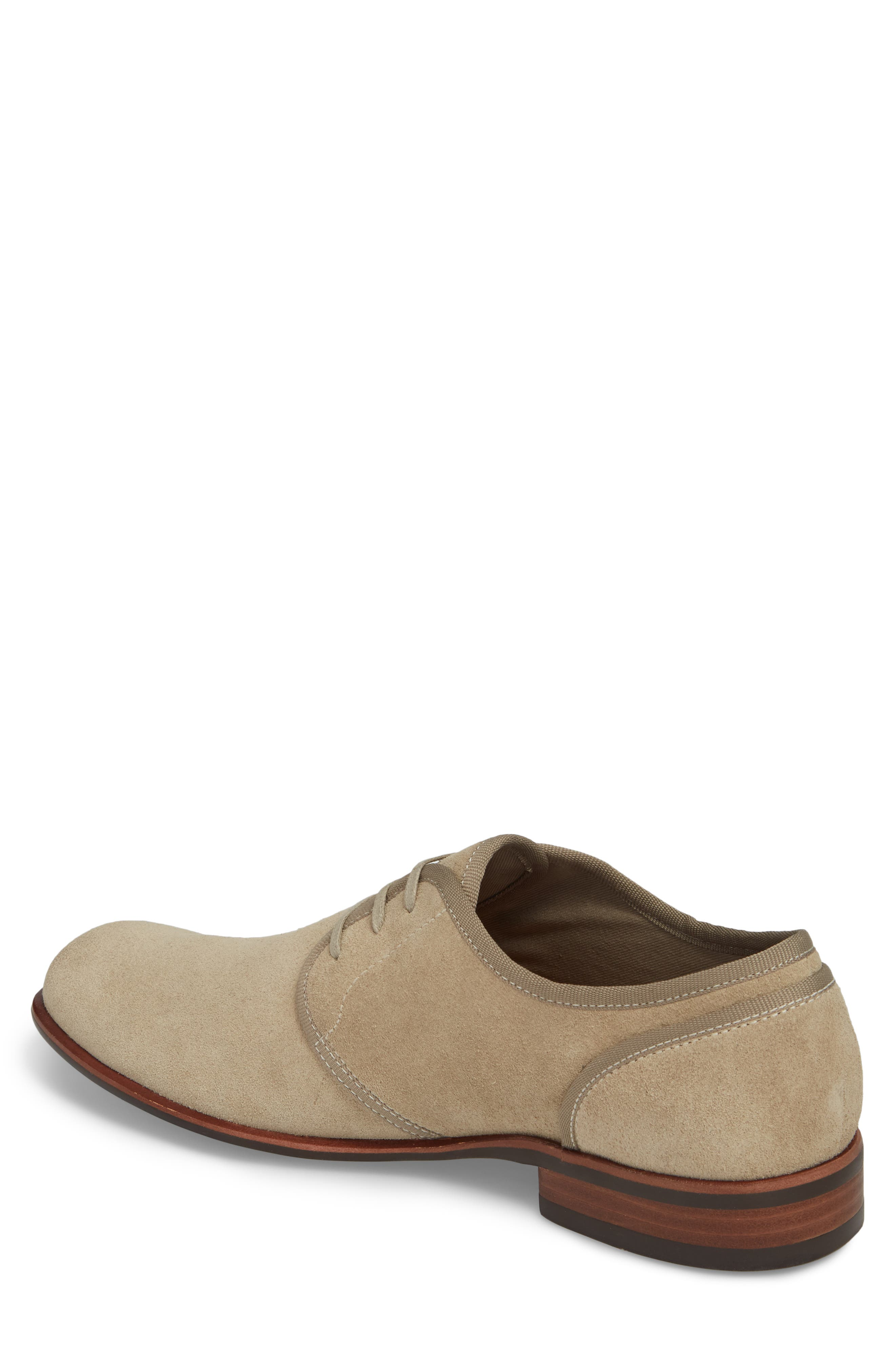 John Varvatos Star USA Seagher Plain Toe Derby,                             Alternate thumbnail 2, color,                             Lt. Brown